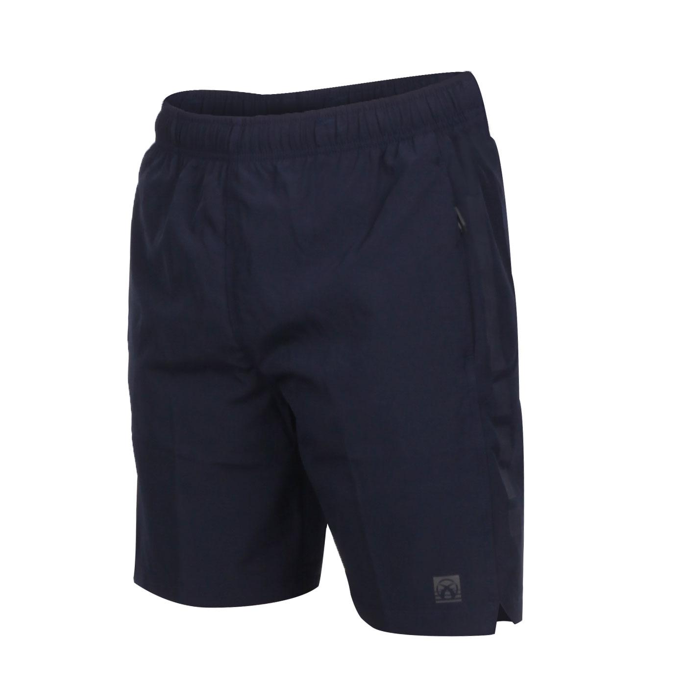 FIRESTAR 男款彈性平織短褲 C0515-10 - 丈青灰