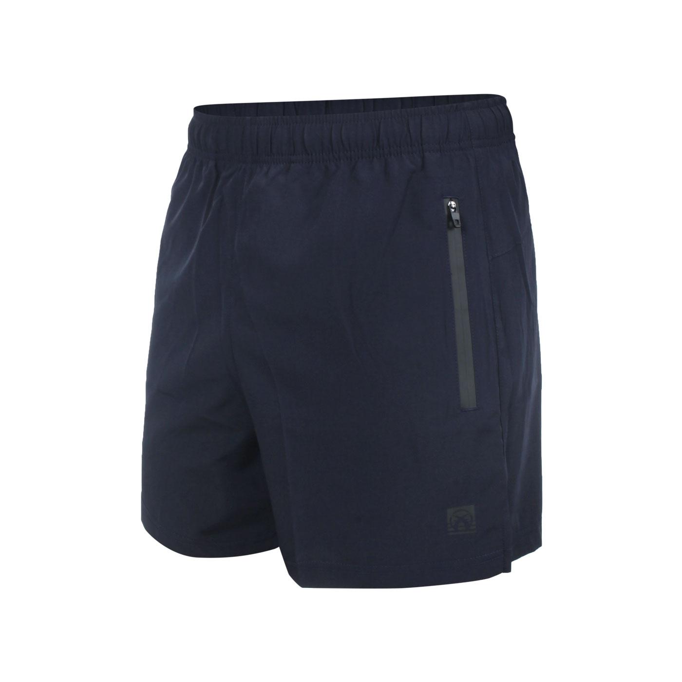 FIRESTAR 男款彈性平織短褲 C1711-93 - 丈青灰