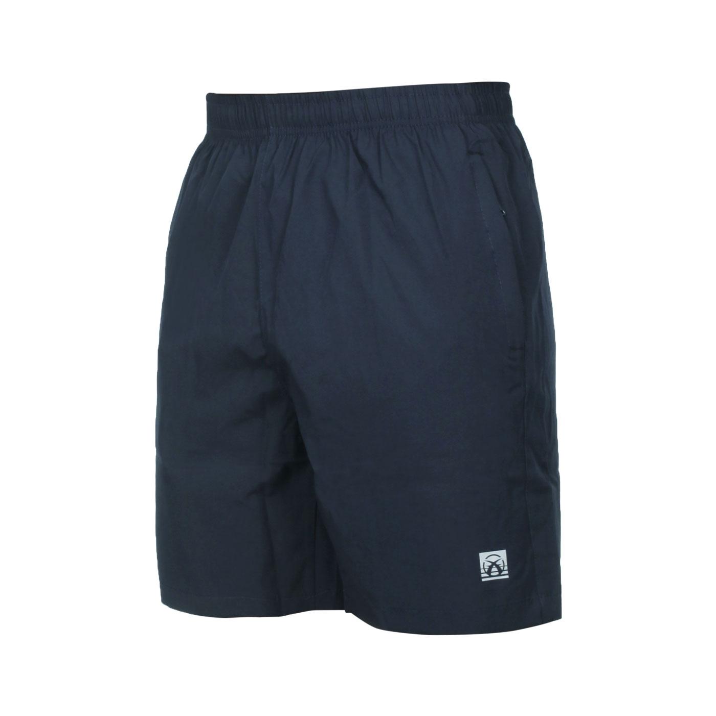 FIRESTAR 男款彈性平織短褲 C1719-93 - 丈青銀