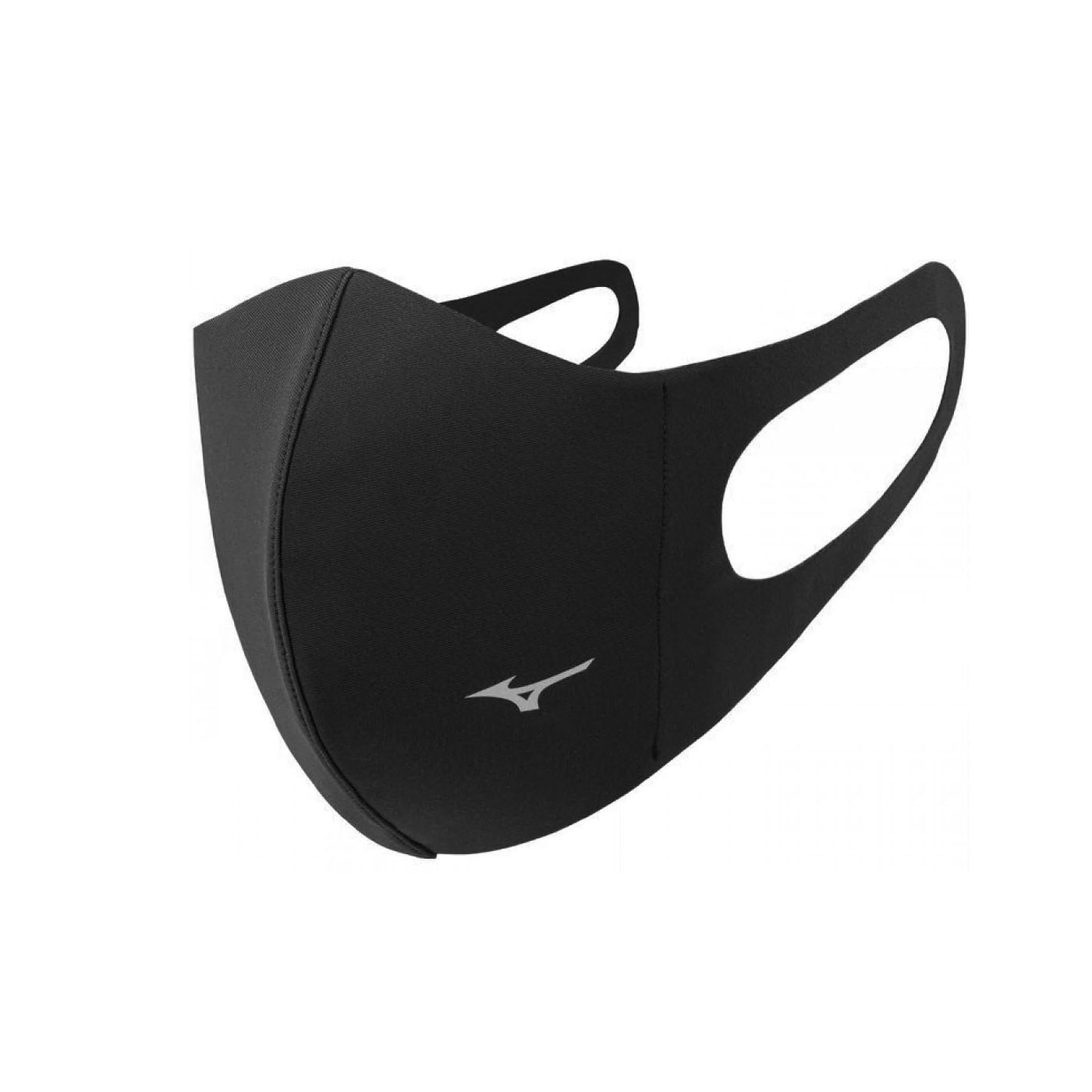 MIZUNO 運動口罩 C2JY013307 - 黑銀
