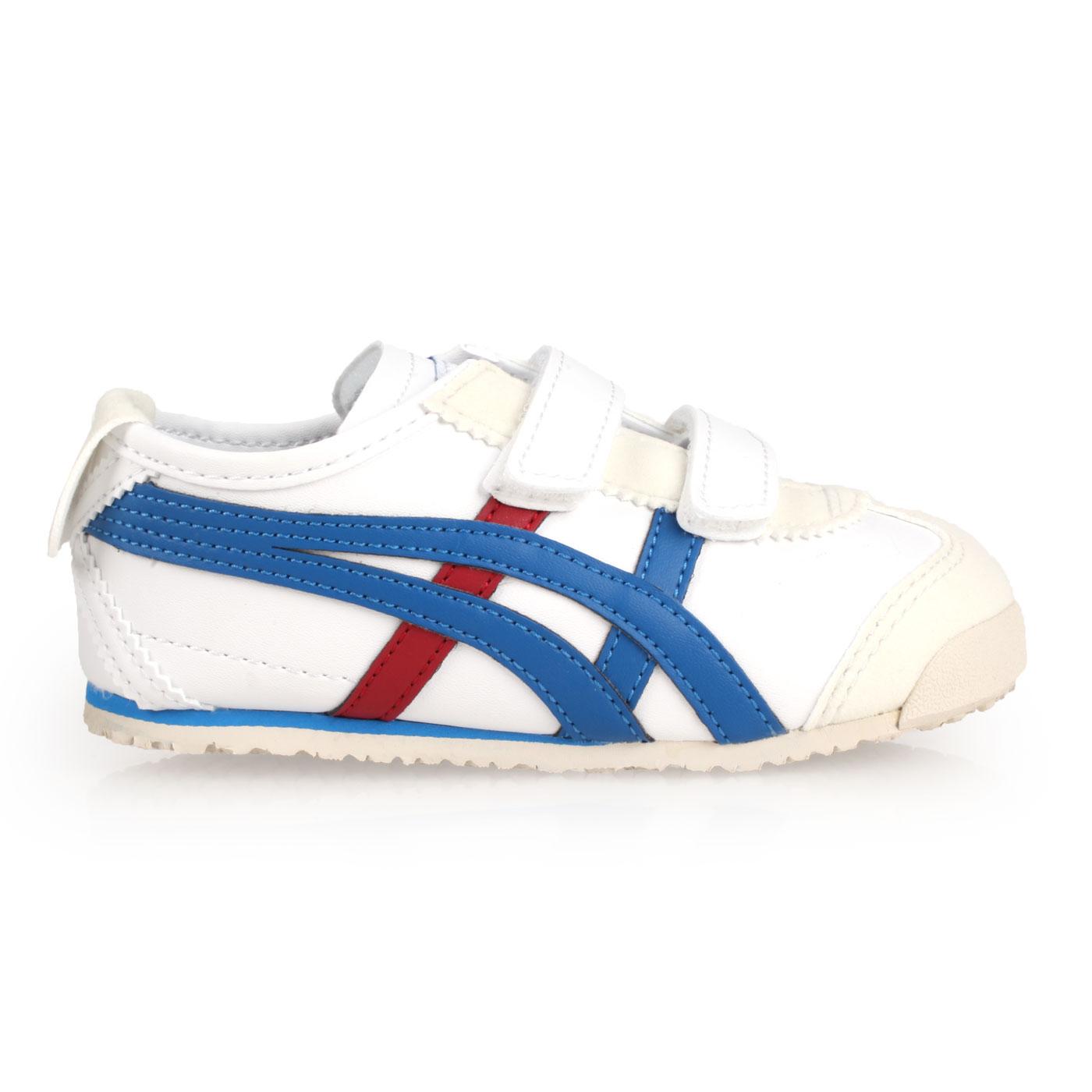 ASICS 小童運動休閒鞋  @MEXICO 66 BAJA TS@C4D4L-0143 - 白藍紅