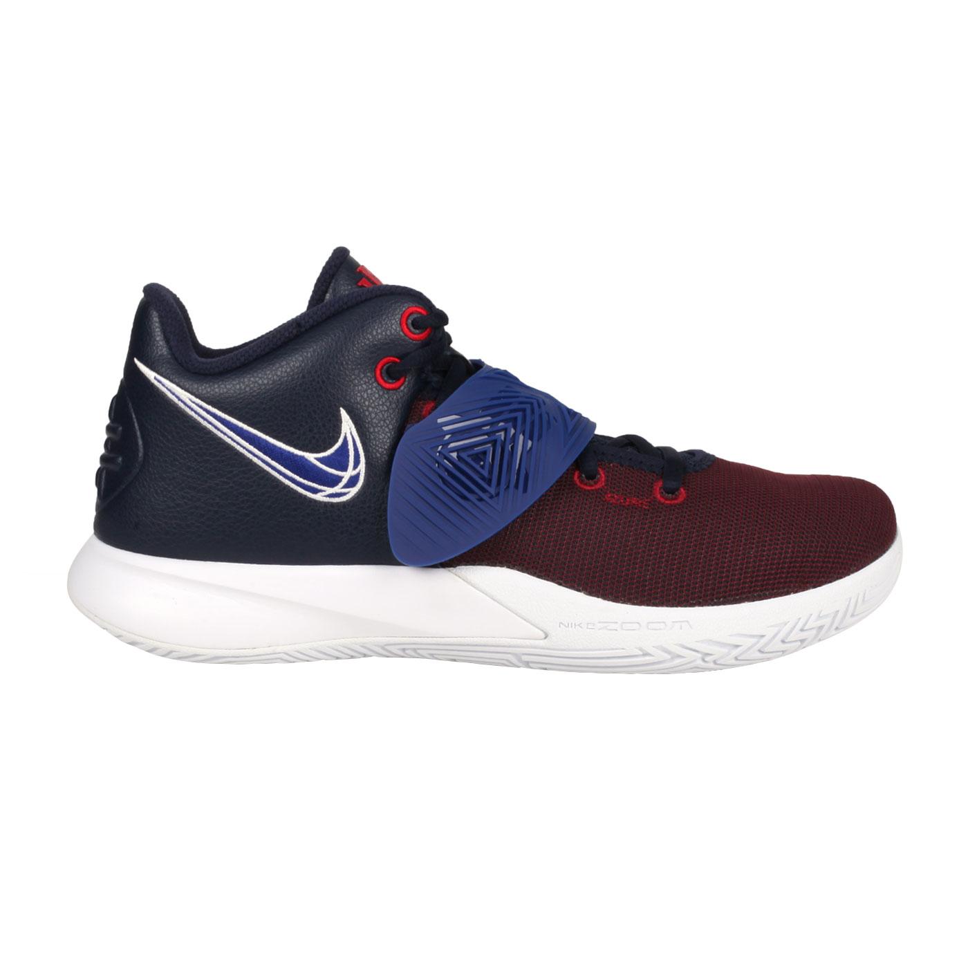 NIKE 男款籃球鞋  @KYRIE FLYTRAP III EP@CD0191008 - 暗紅丈青藍