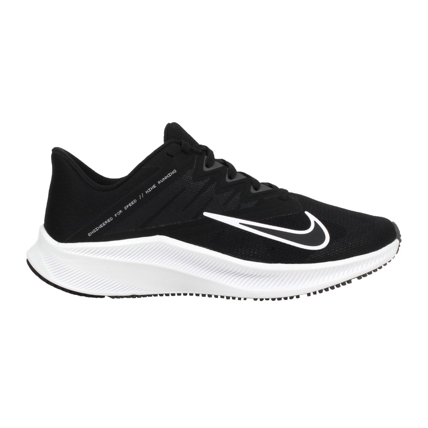 NIKE 女款慢跑鞋  @QUEST 3@CD0232002 - 黑白