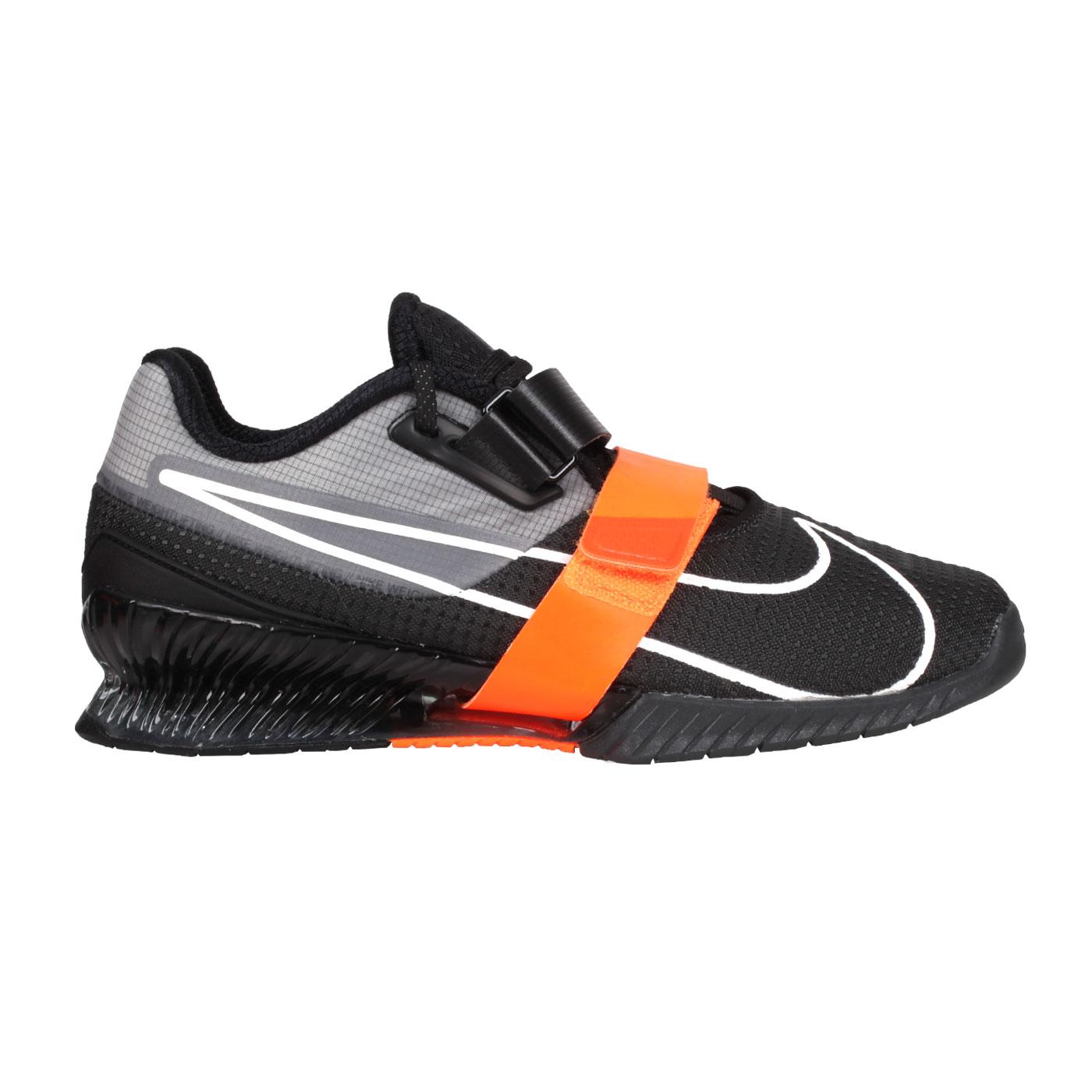 NIKE 舉重鞋  @ ROMALEOS 4@CD3463018 - 黑灰白亮橘