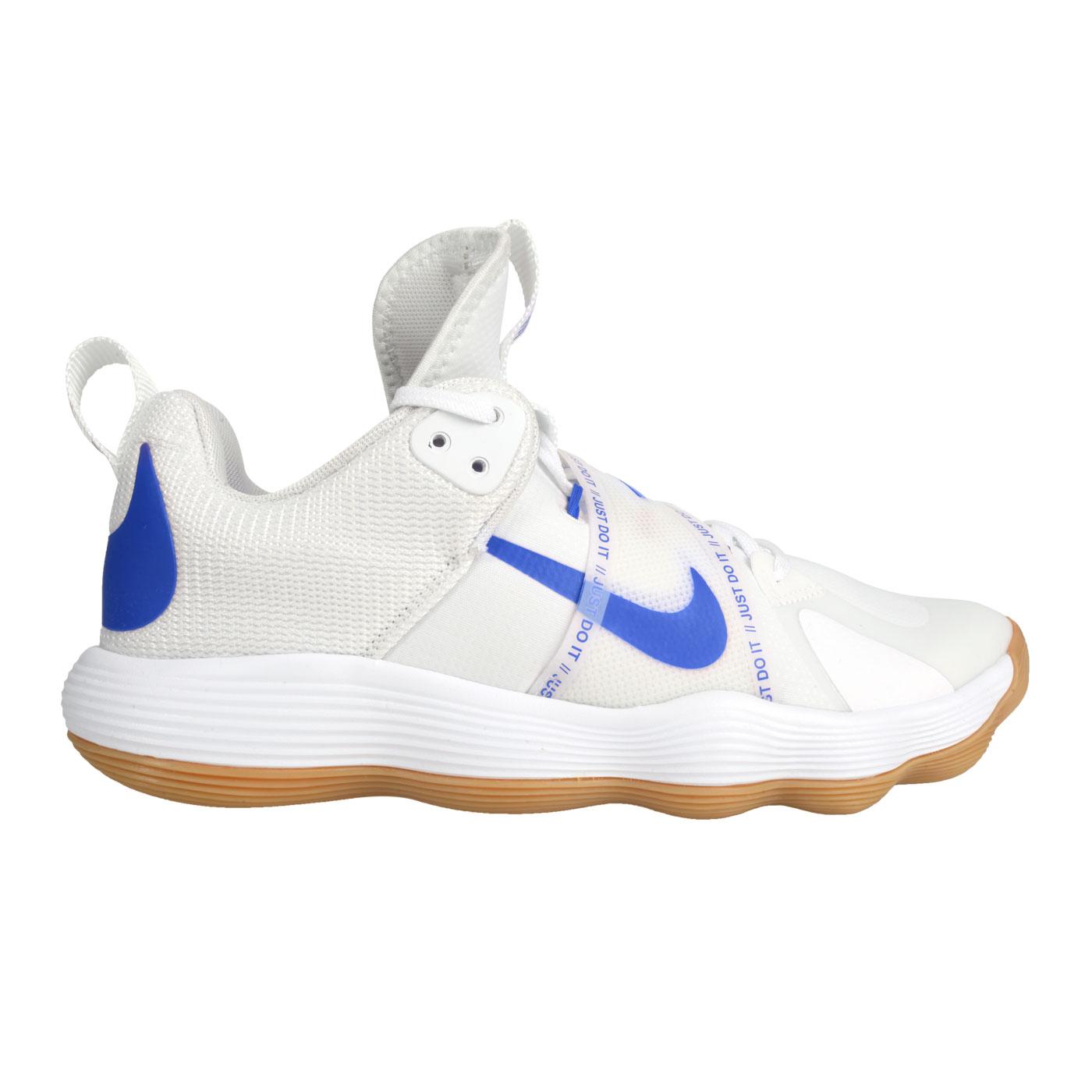 NIKE 男款排球室內運動鞋  @REACT HYPERSET@CI2955140 - 白藍