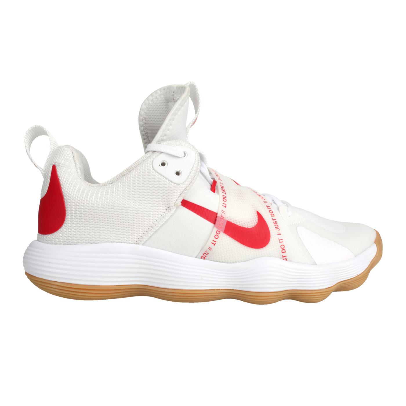NIKE 男款排球室內運動鞋  @REACT HYPERSET@CI2955140 - 白紅