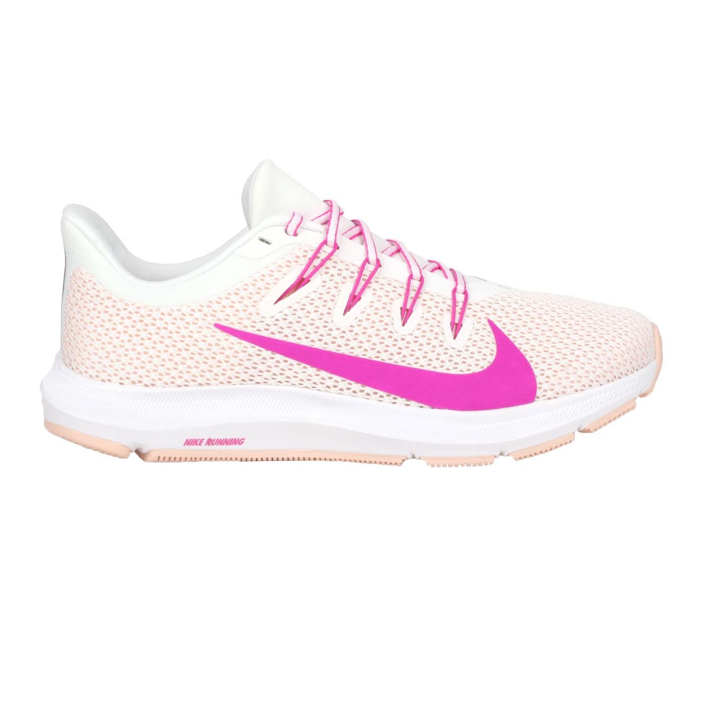 NIKE 女款休閒慢跑鞋  @WMNS  QUEST 2@CI3803004 - 白粉紫