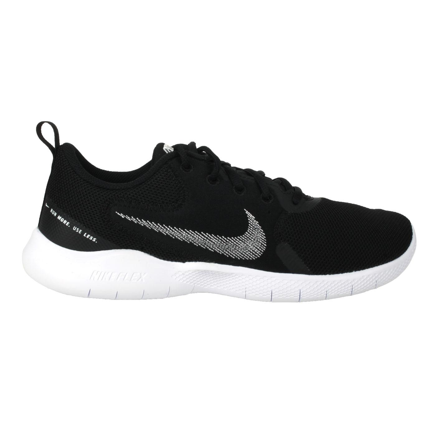 NIKE 男款運動鞋  @FLEX EXPERIENCE RN 10@CI9960002 - 黑白