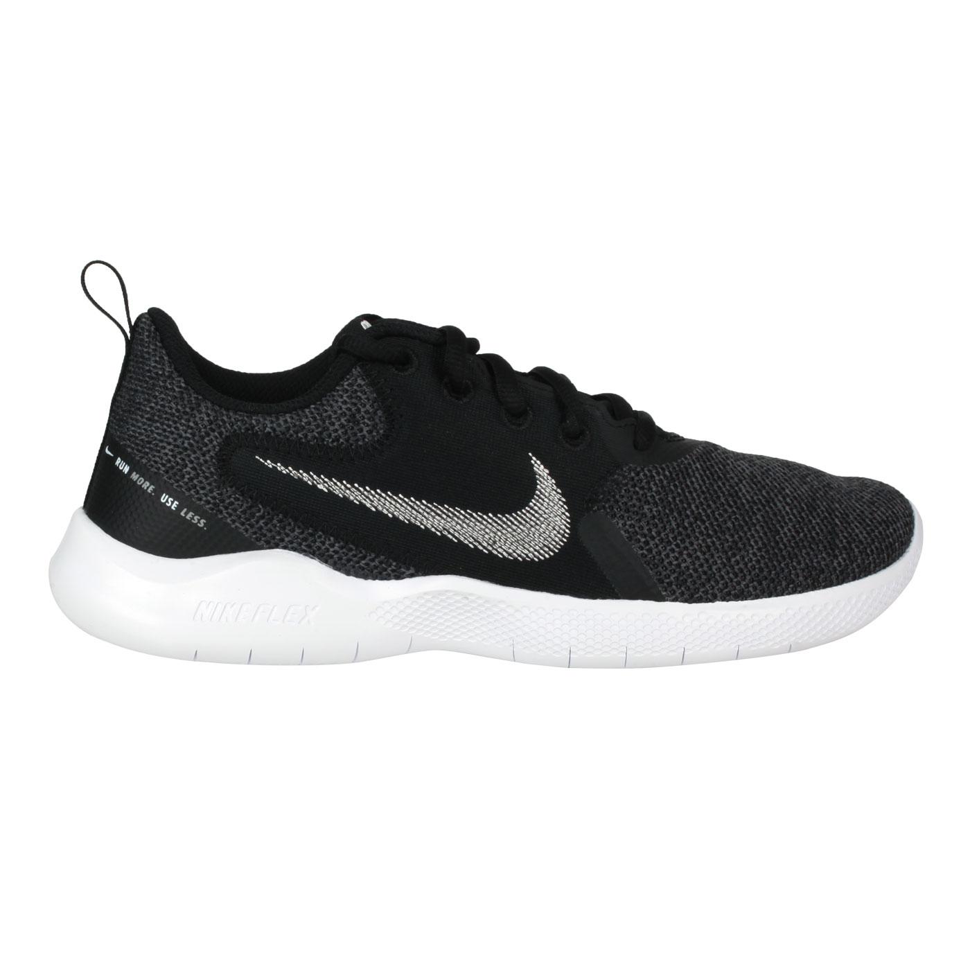 NIKE 女款休閒慢跑鞋  @WMNS FLEX EXPERIENCE RN 10@CI9964002 - 黑白灰