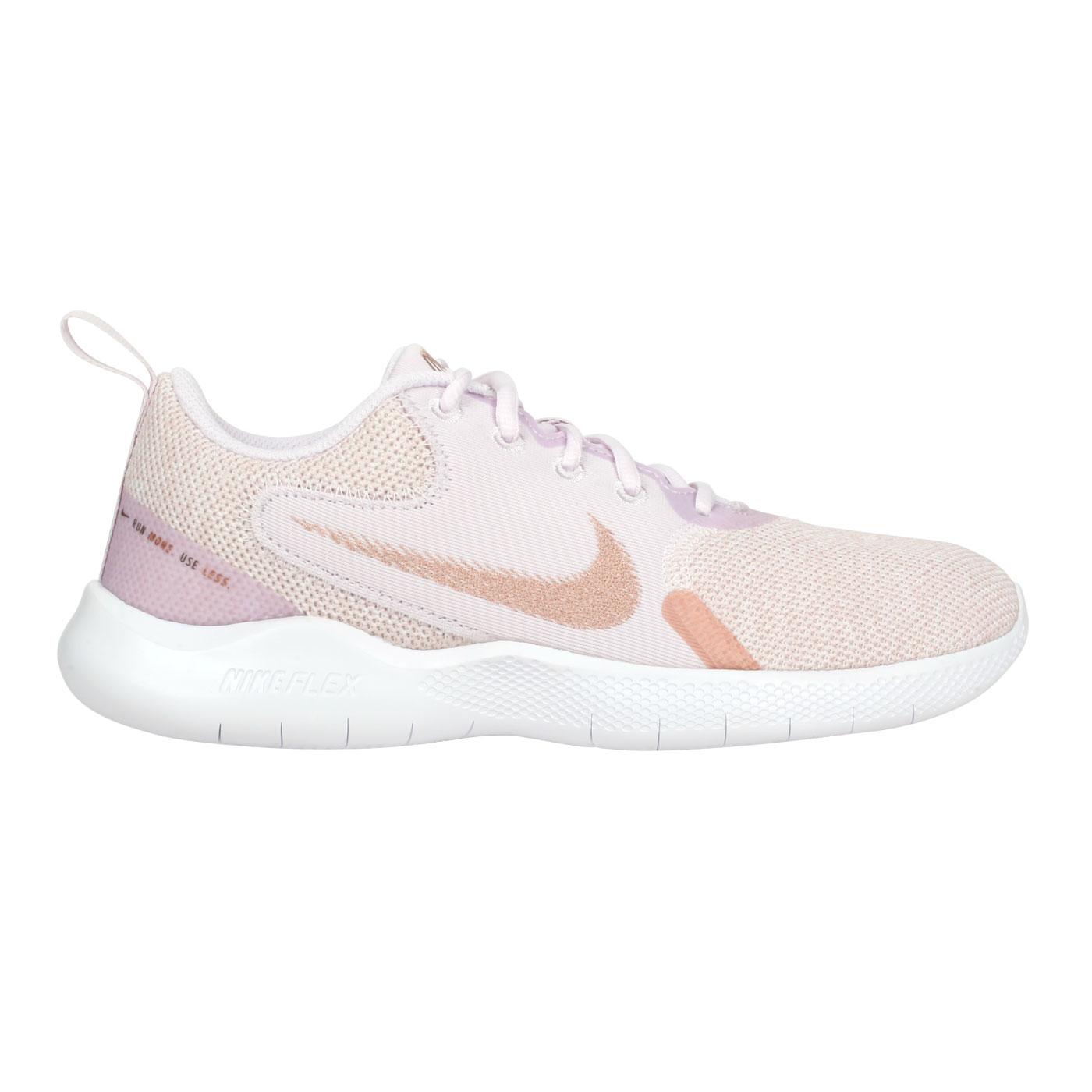 NIKE 女款運動休閒鞋  @WMNS FLEX EXPERIENCE RN 10@CI9964600 - 紫粉玫瑰金