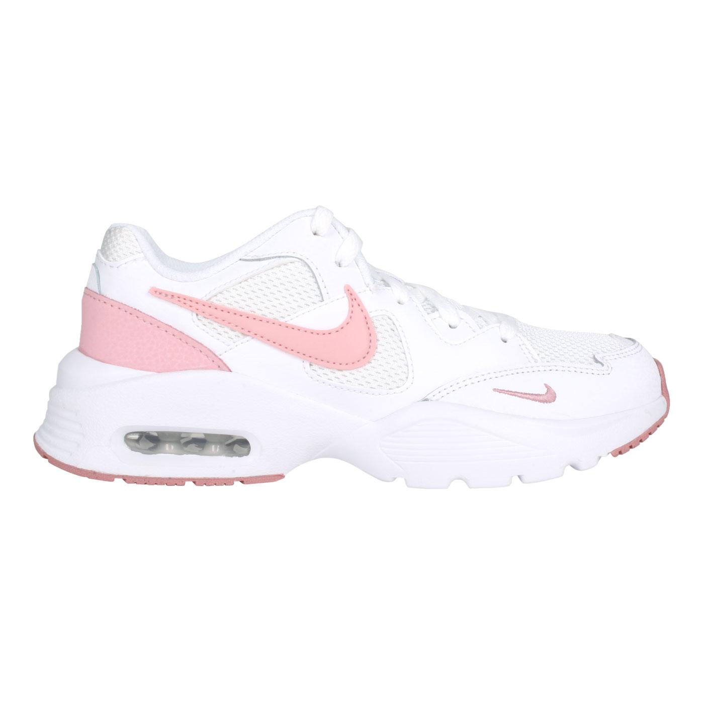 NIKE 女款復古運動鞋  @WMNS AIR MAX FUSION@CJ1671107 - 白粉紅