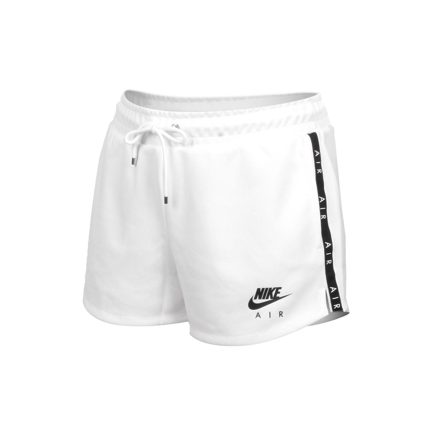 NIKE 女款運動短褲 CJ3135-100 - 白黑