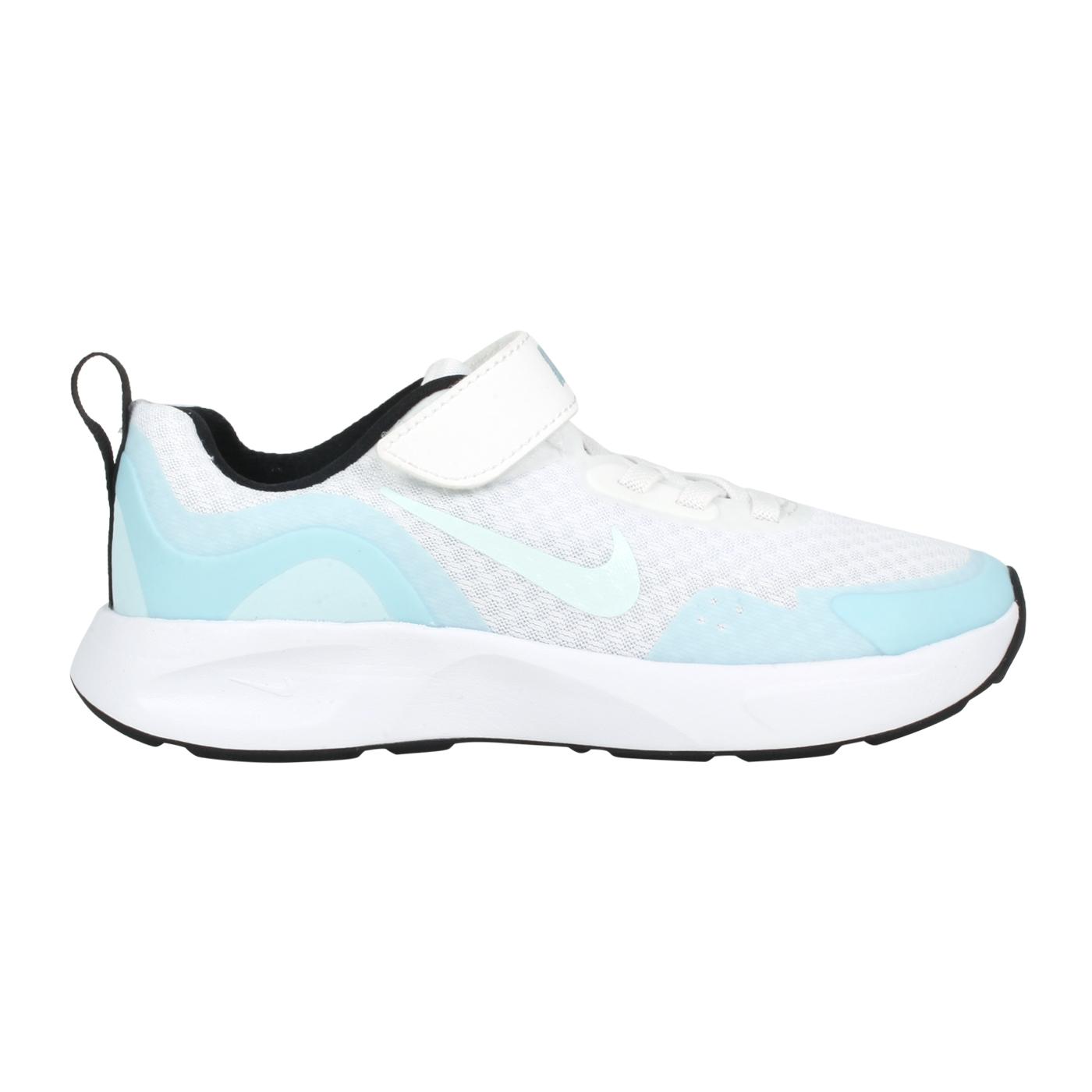 NIKE 中童運動休閒鞋  @WEARALLDAY (PS)@CJ3817102 - 白淺藍綠