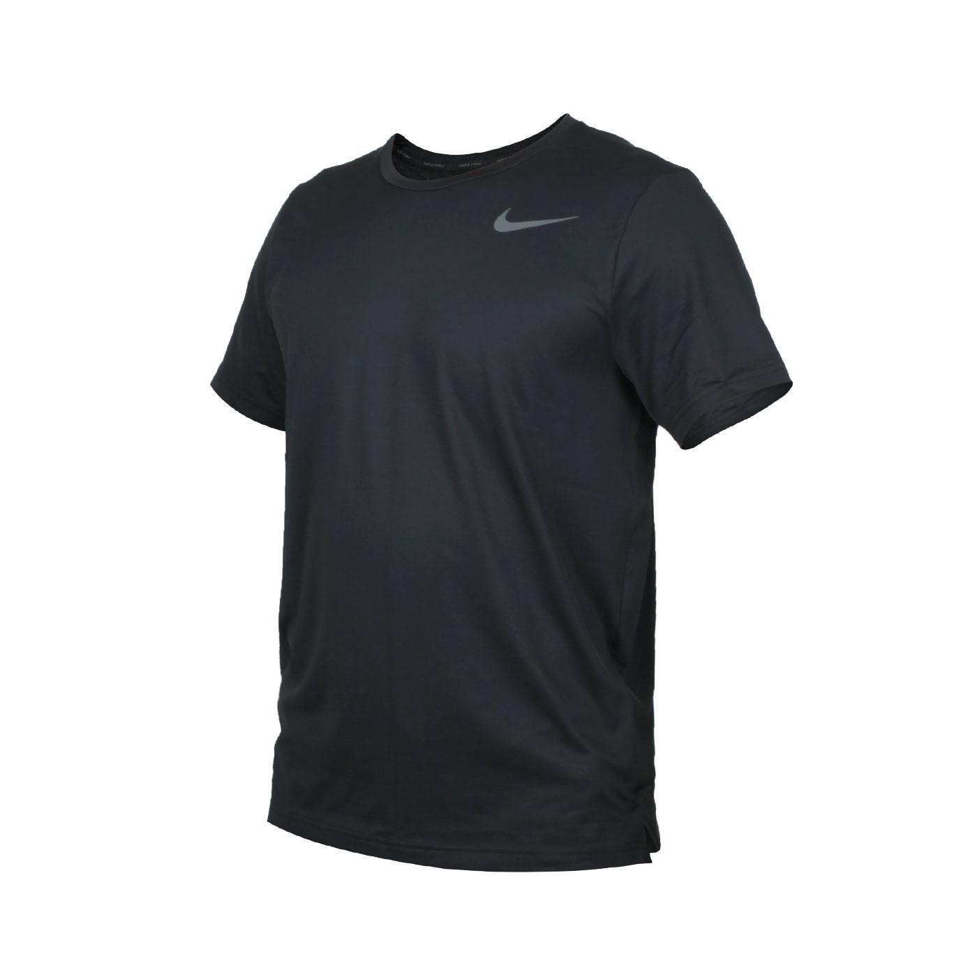 NIKE 男款訓練排汗短袖T恤 CJ4612-010 - 黑灰
