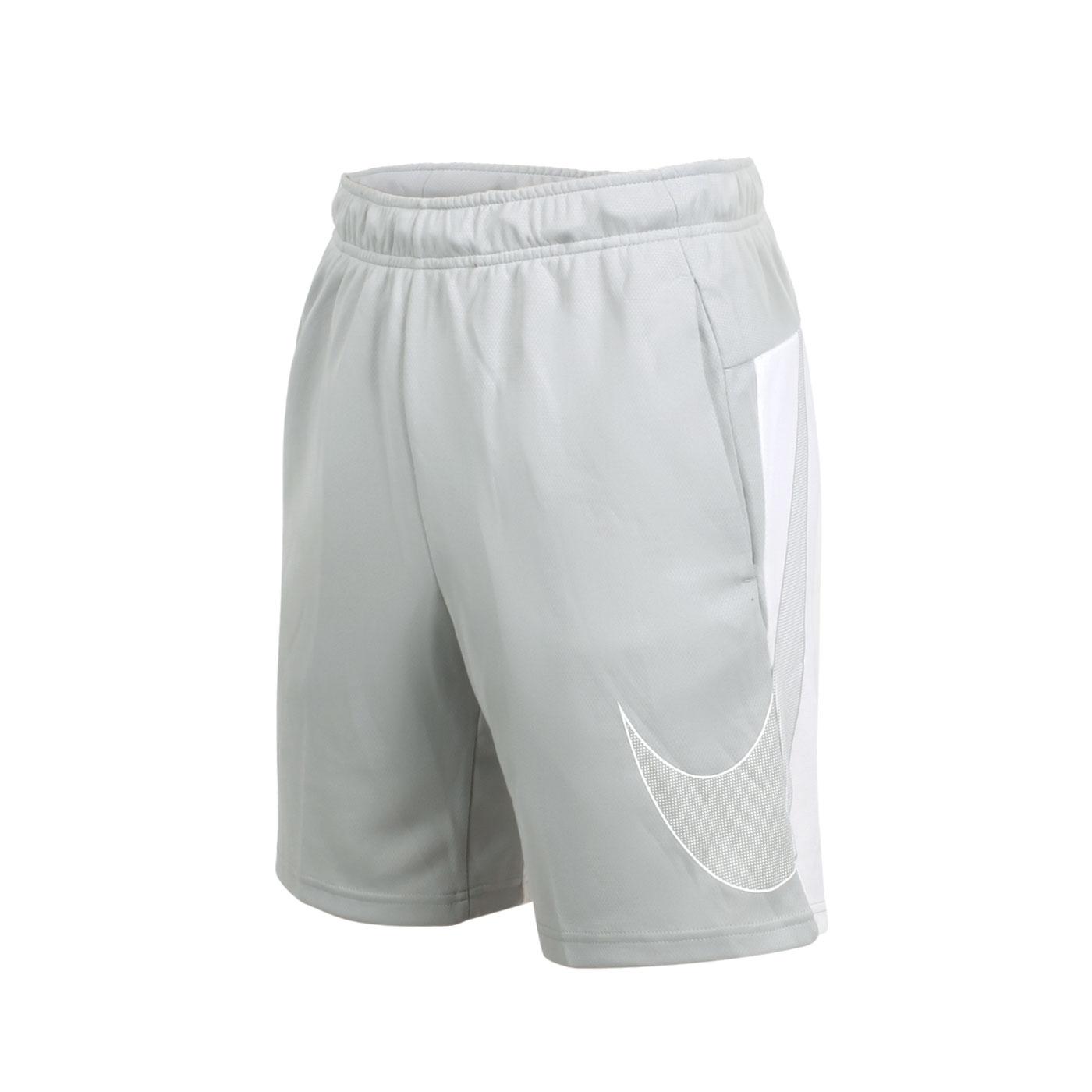 NIKE 男款運動短褲 CJ6690-077 - 灰白