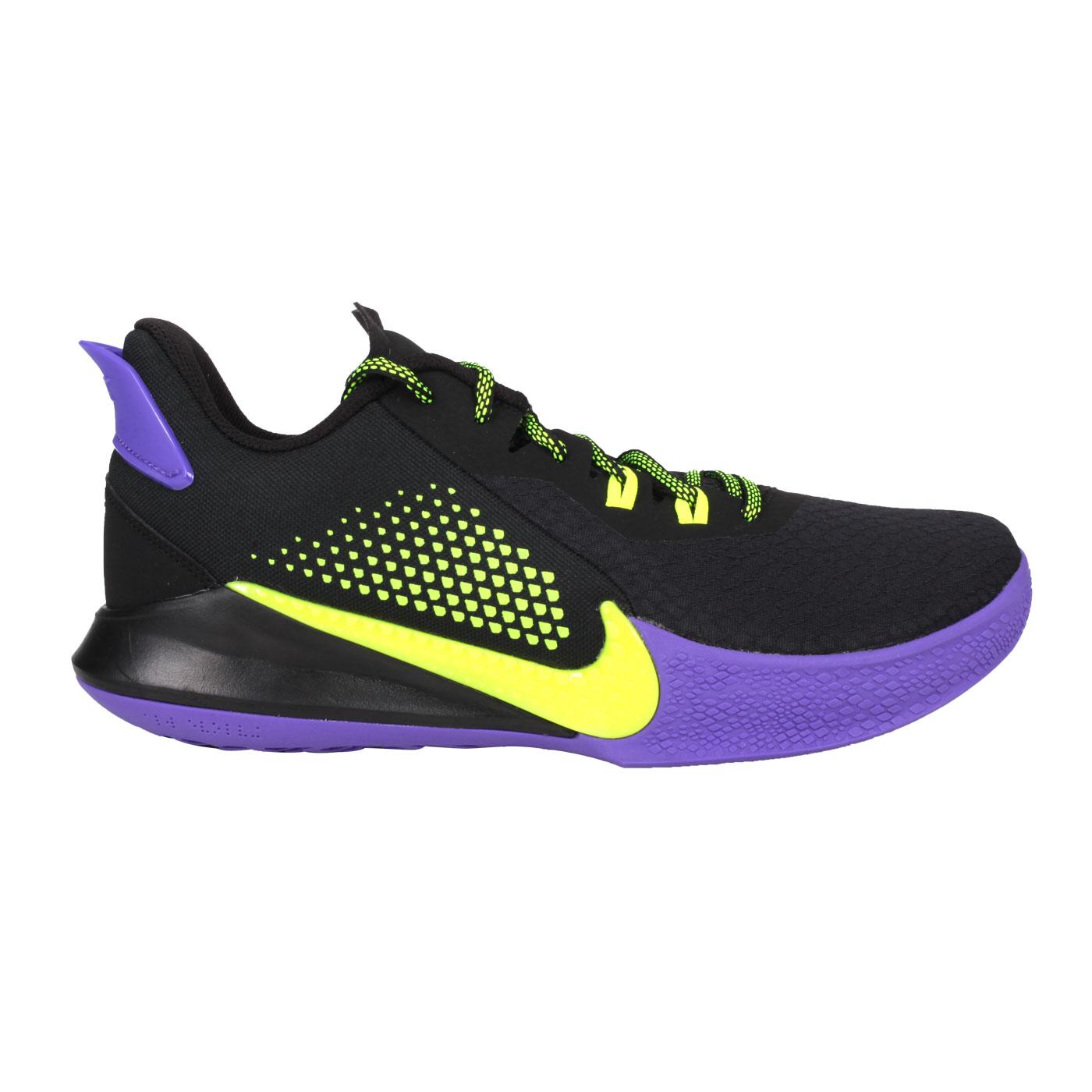 NIKE 男款籃球鞋  @MAMBA FURY EP@CK2088003 - 黑紫螢光綠