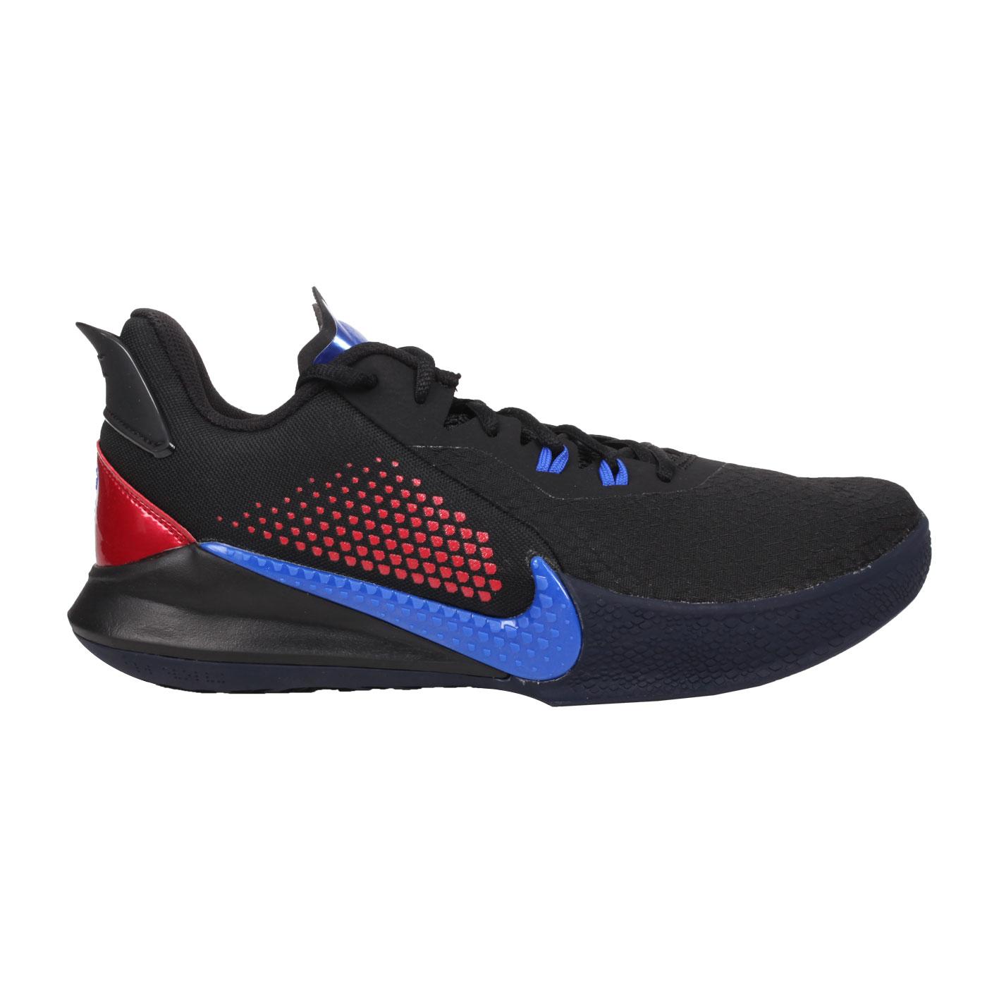 NIKE 男款籃球鞋  @MAMBA FURY EP@CK2088004 - 黑紅藍