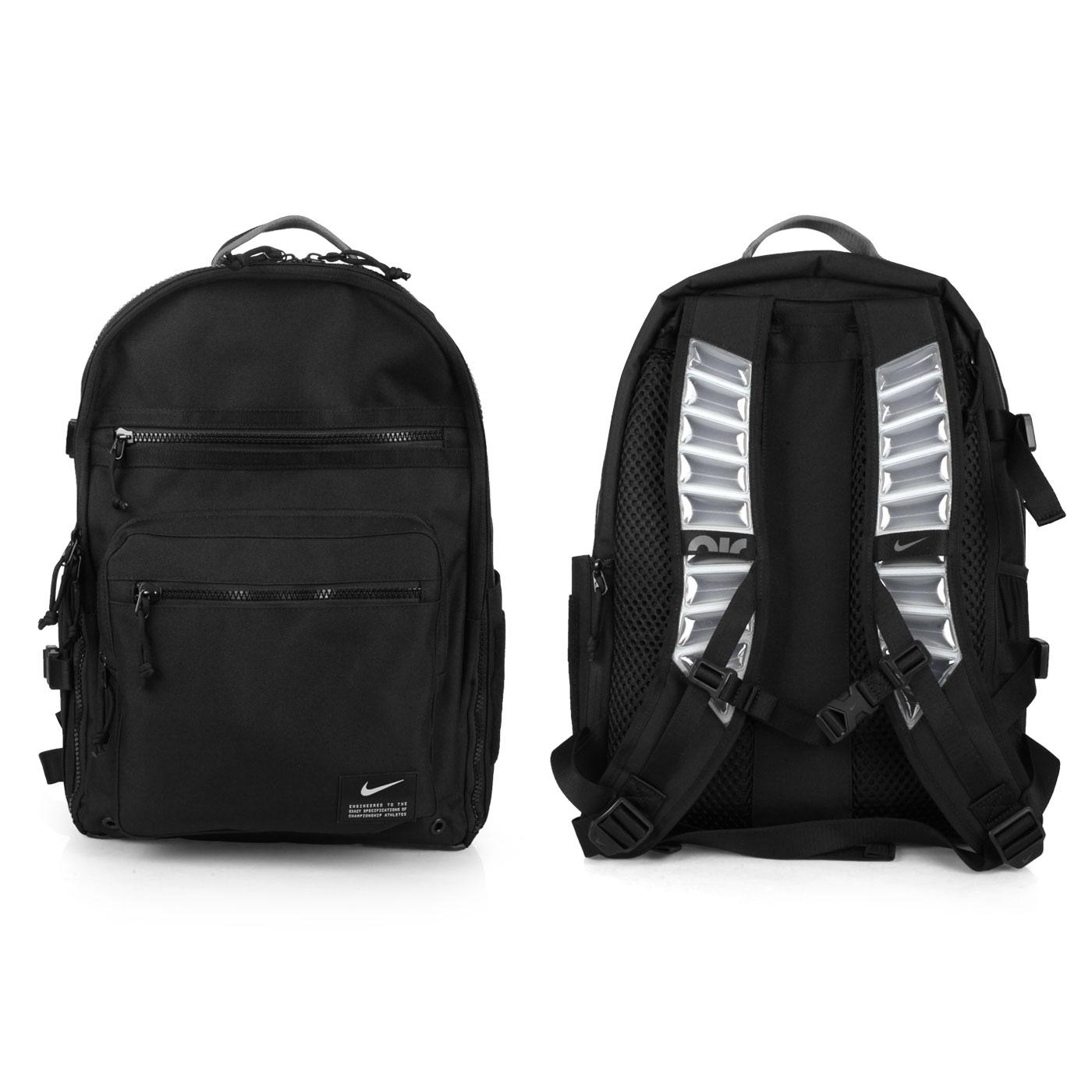 NIKE 大型氣墊背帶後背包 CK2663-010 - 黑