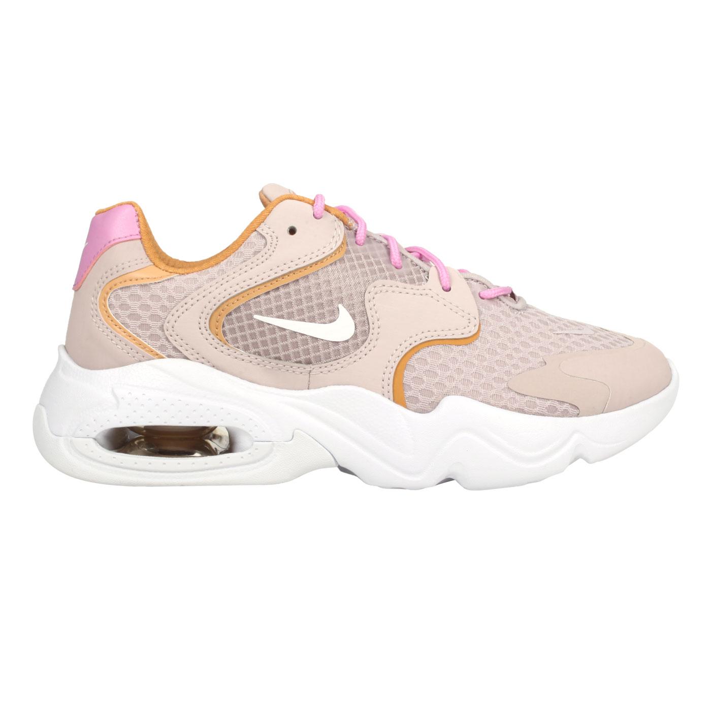 NIKE 女款休閒運動鞋  @Air Max 2X@CK2947003 - 藕粉白土黃