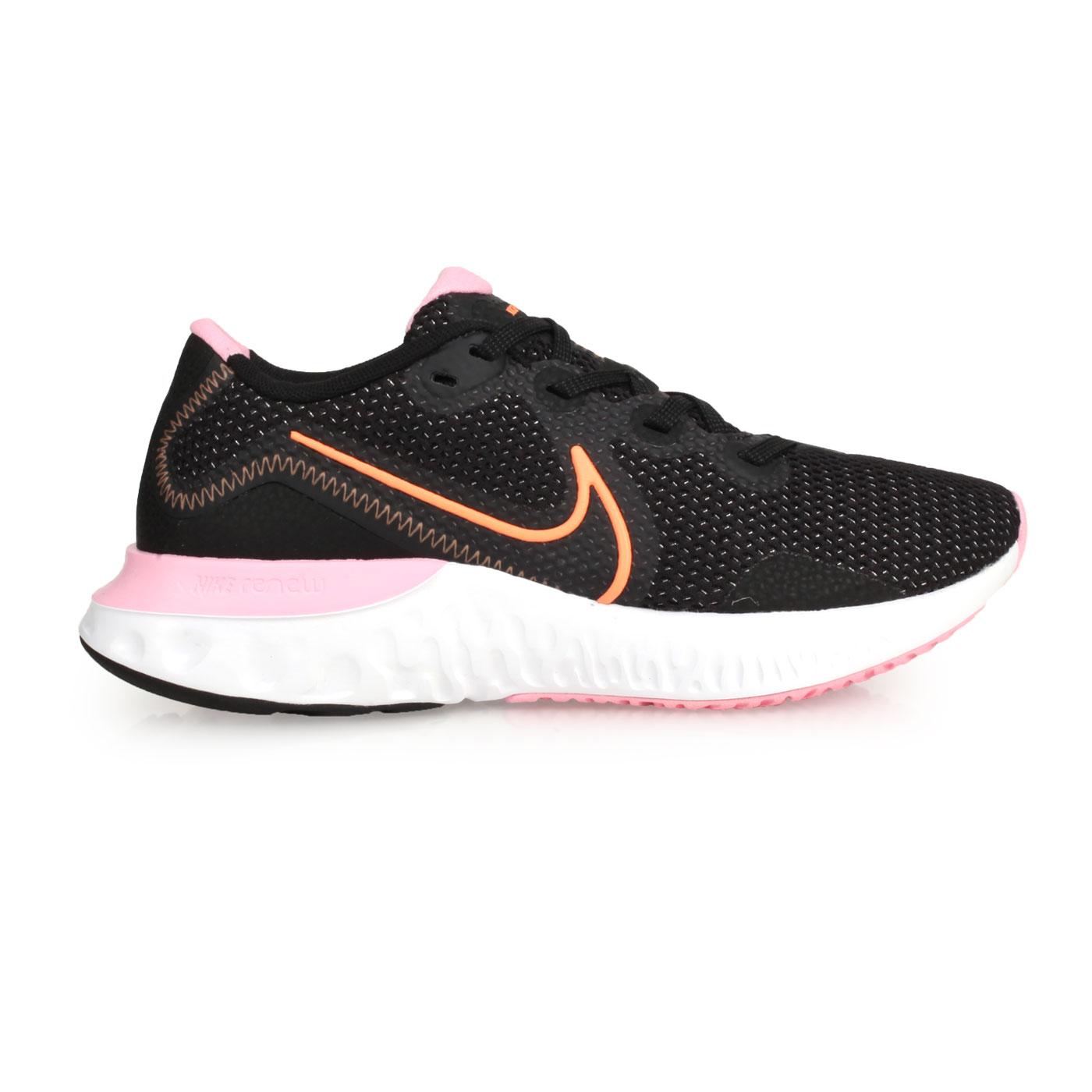 NIKE 女款慢跑鞋  @WMNS RENEW RUN@CK6360001 - 黑粉橘