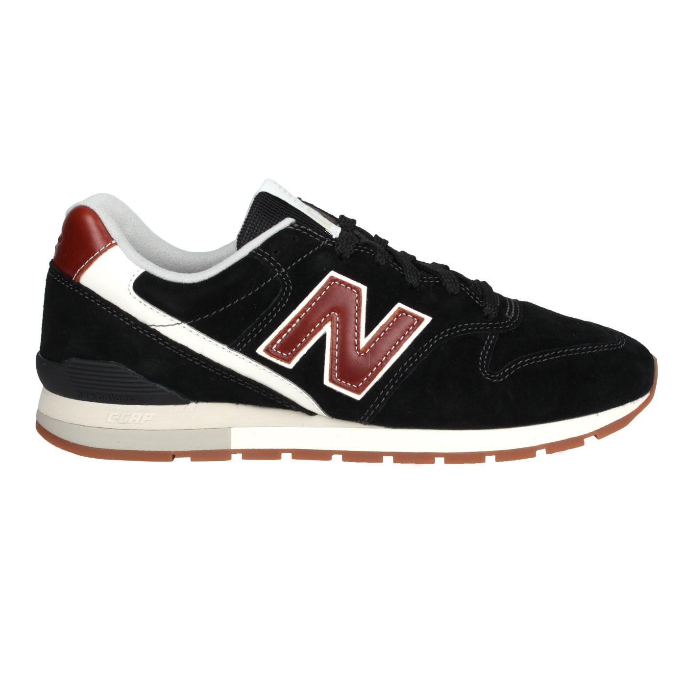 NEW BALANCE 復古慢跑鞋 CM996BB - 黑咖啡