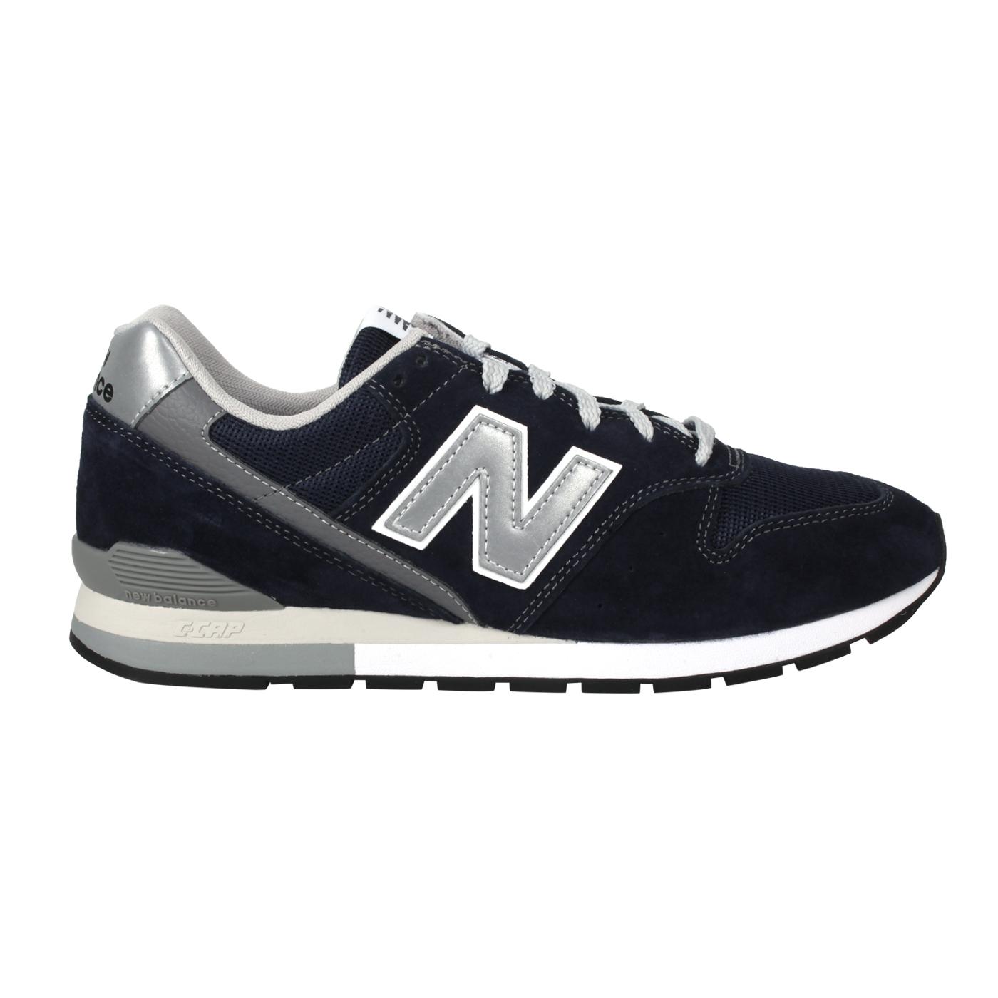 NEW BALANCE 男款休閒鞋 CM996BN - 深藍銀