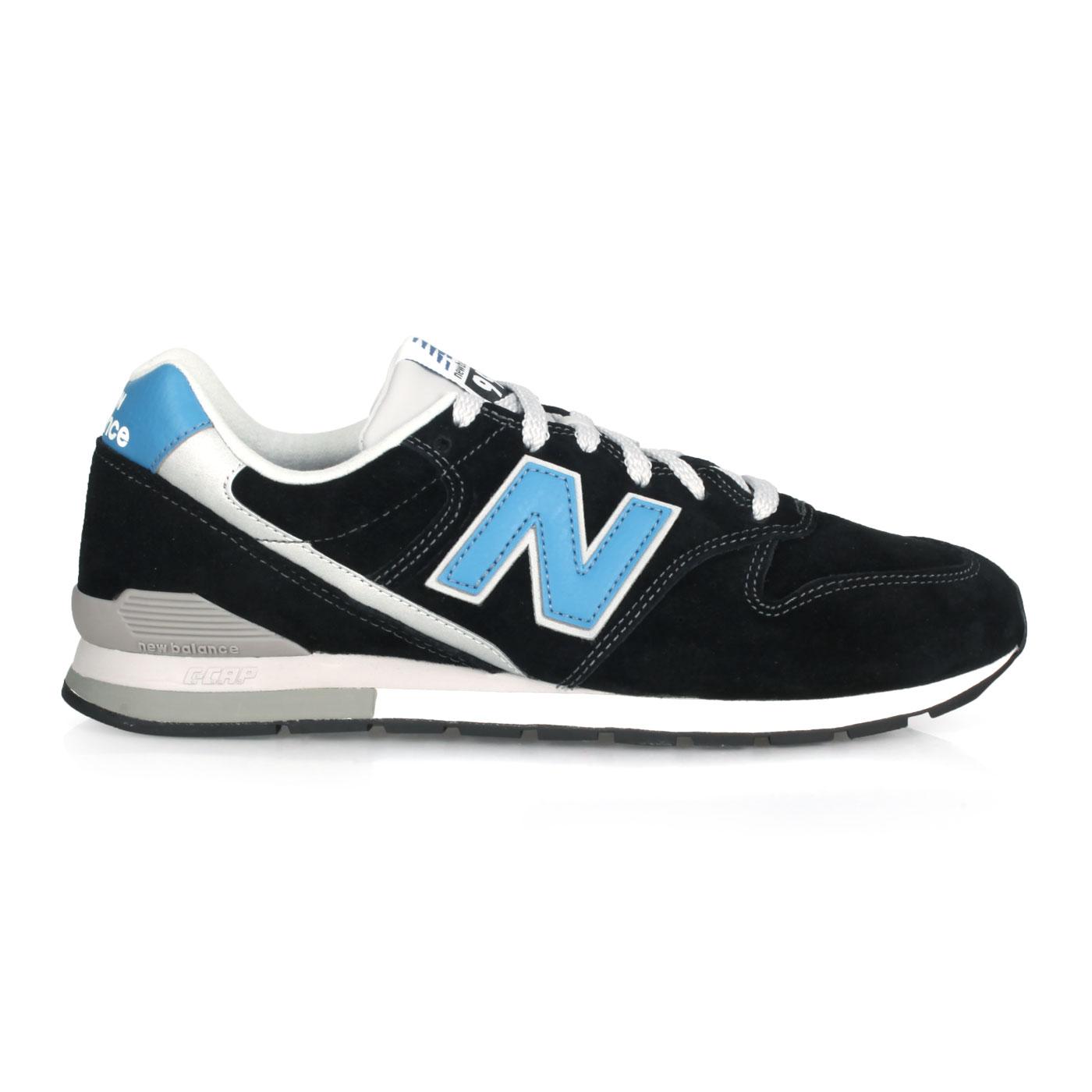 NEW BALANCE 男款復古慢跑鞋 CM996PSB - 黑藍銀