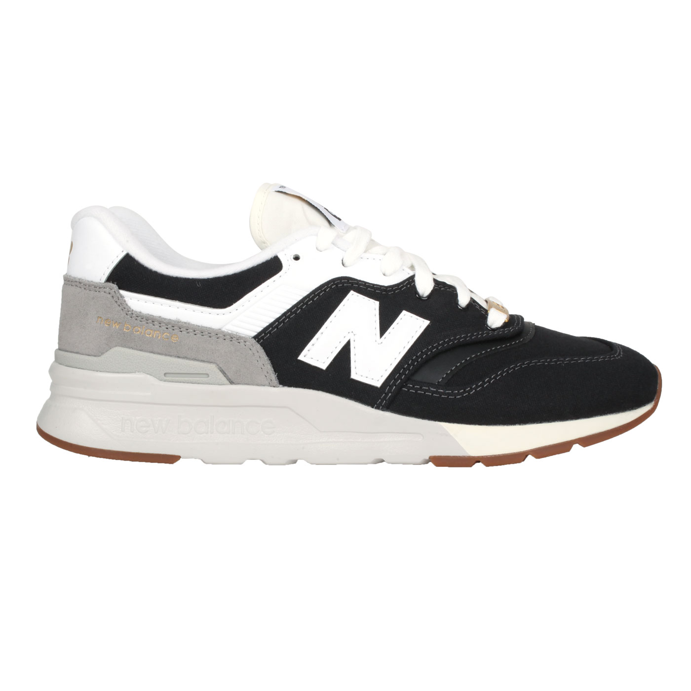 NEW BALANCE 男款復古運動鞋 CM997HHC - 黑白灰