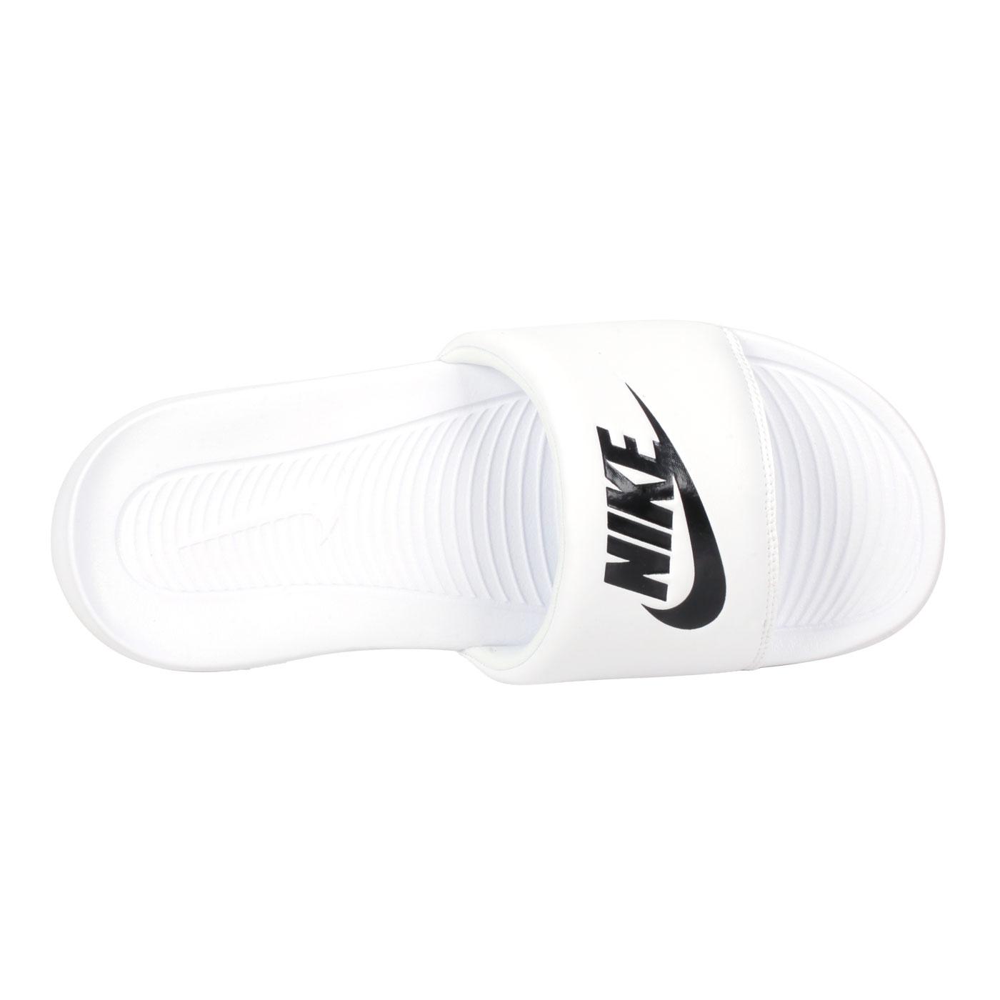 NIKE 女款休閒拖鞋  @W VICTORI ONE SLIDE@CN9677100 - 白黑