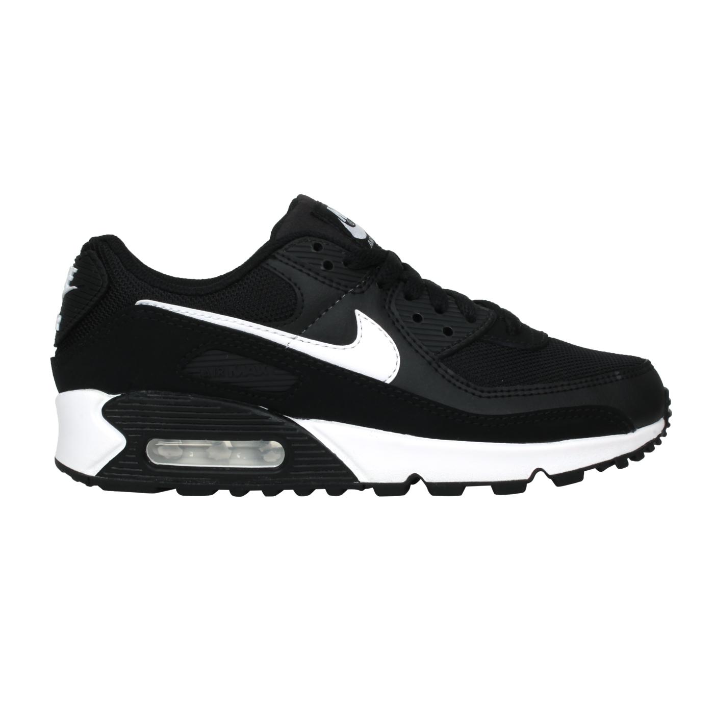 NIKE 女款運動休閒鞋  @W AIR MAX 90@CQ2560001 - 黑白