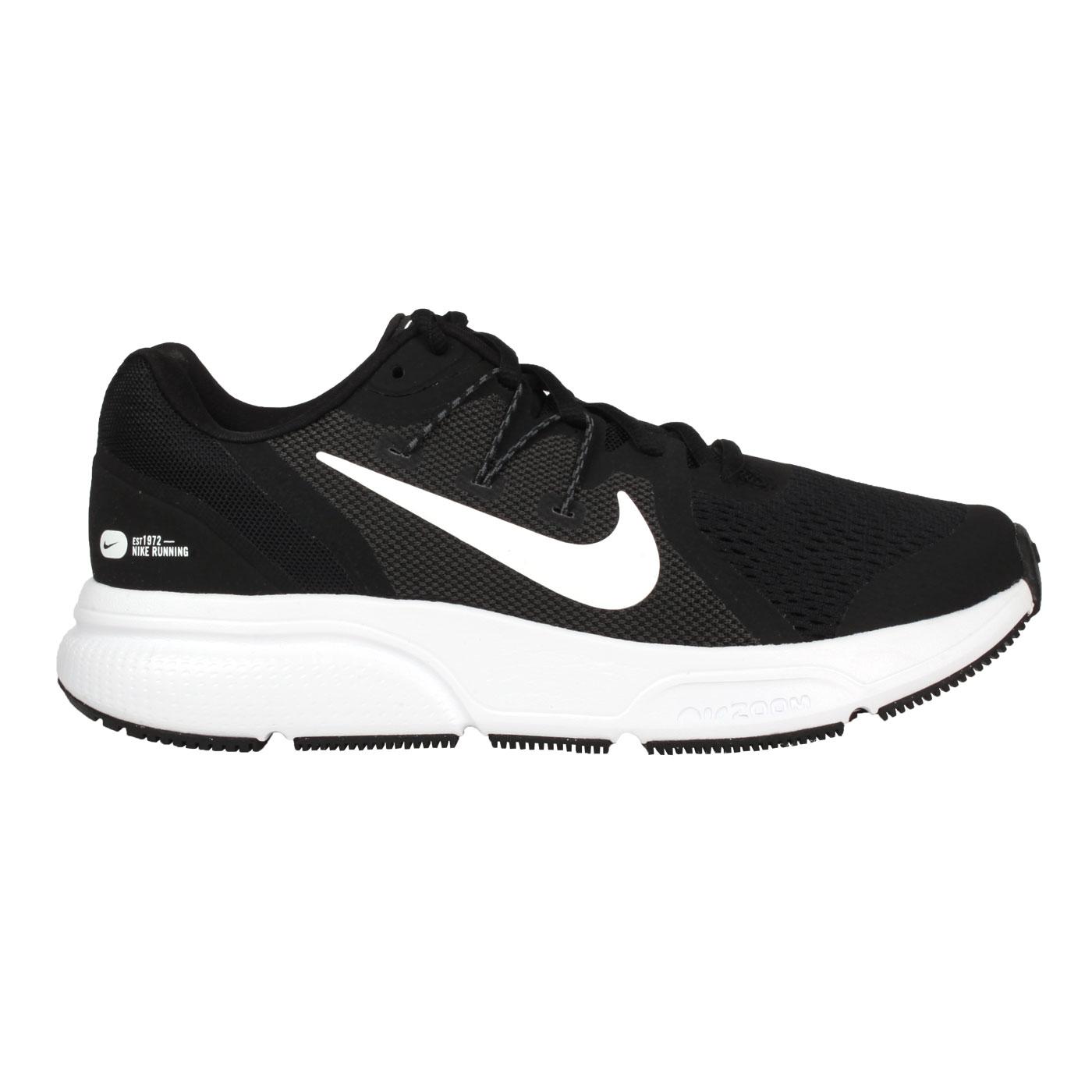 NIKE 女款慢跑鞋  @WMNS ZOOM SPAN 3@CQ9267001 - 黑深灰白
