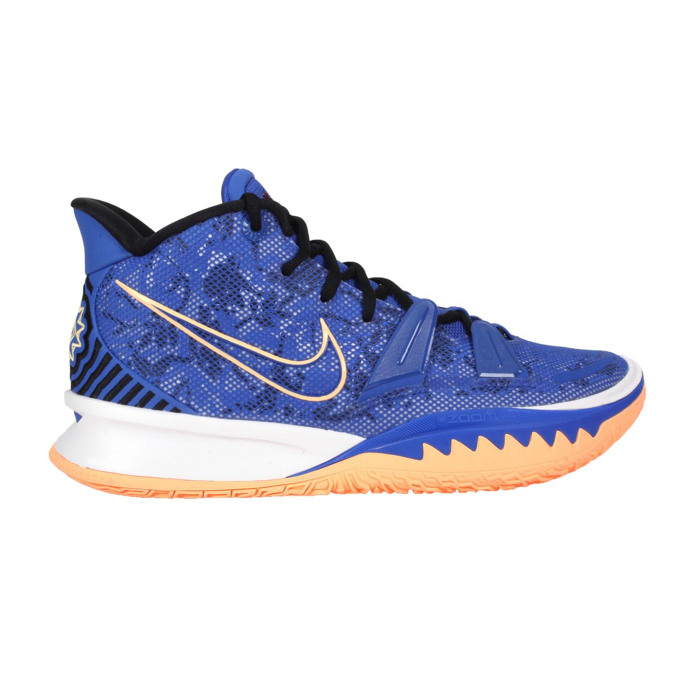 NIKE 男款籃球鞋  @KYRIE 7 EP@CQ9327400 - 藍橘