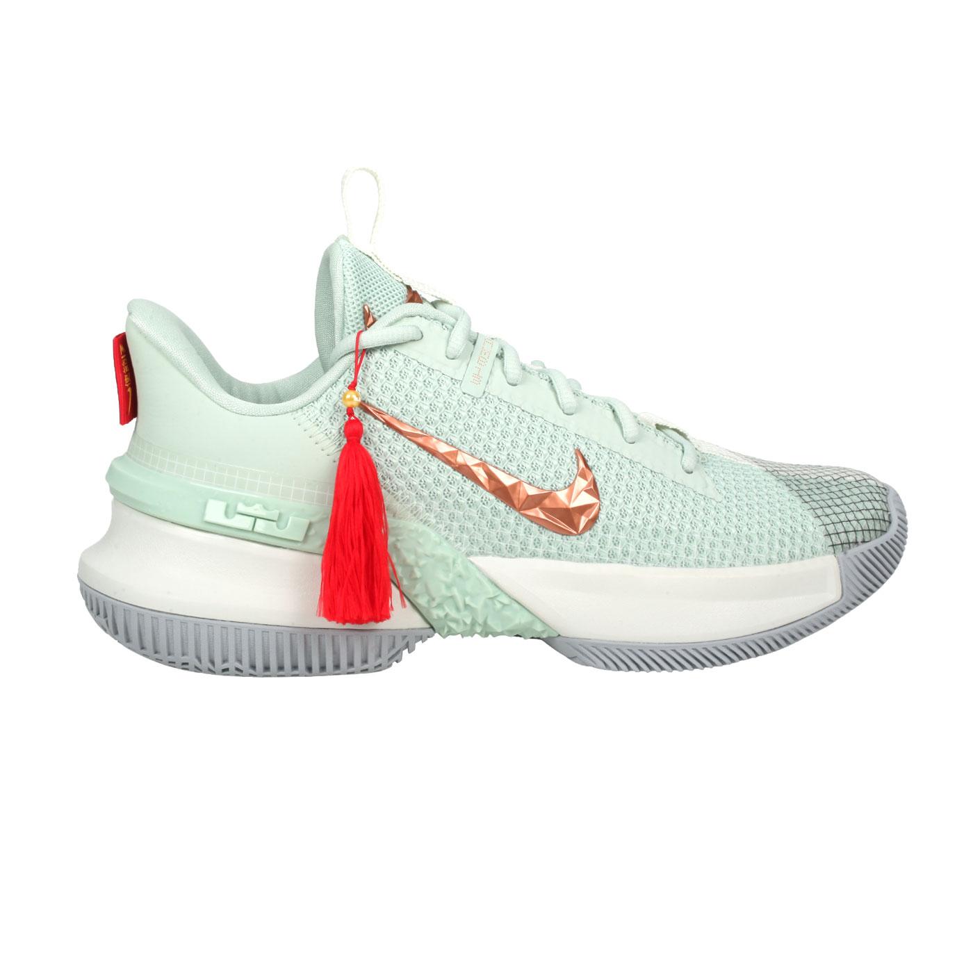 NIKE 限量-男款籃球鞋  @AMBASSADOR XIII@CQ9329300 - 果綠咖啡金