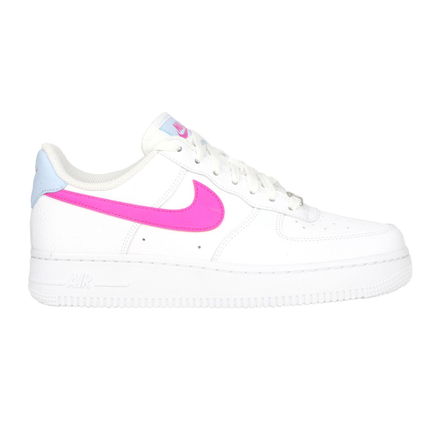 NIKE 女款休閒運動鞋  @WMNS AIR FORCE 1'07@CT4328101 - 白粉藍桃紅