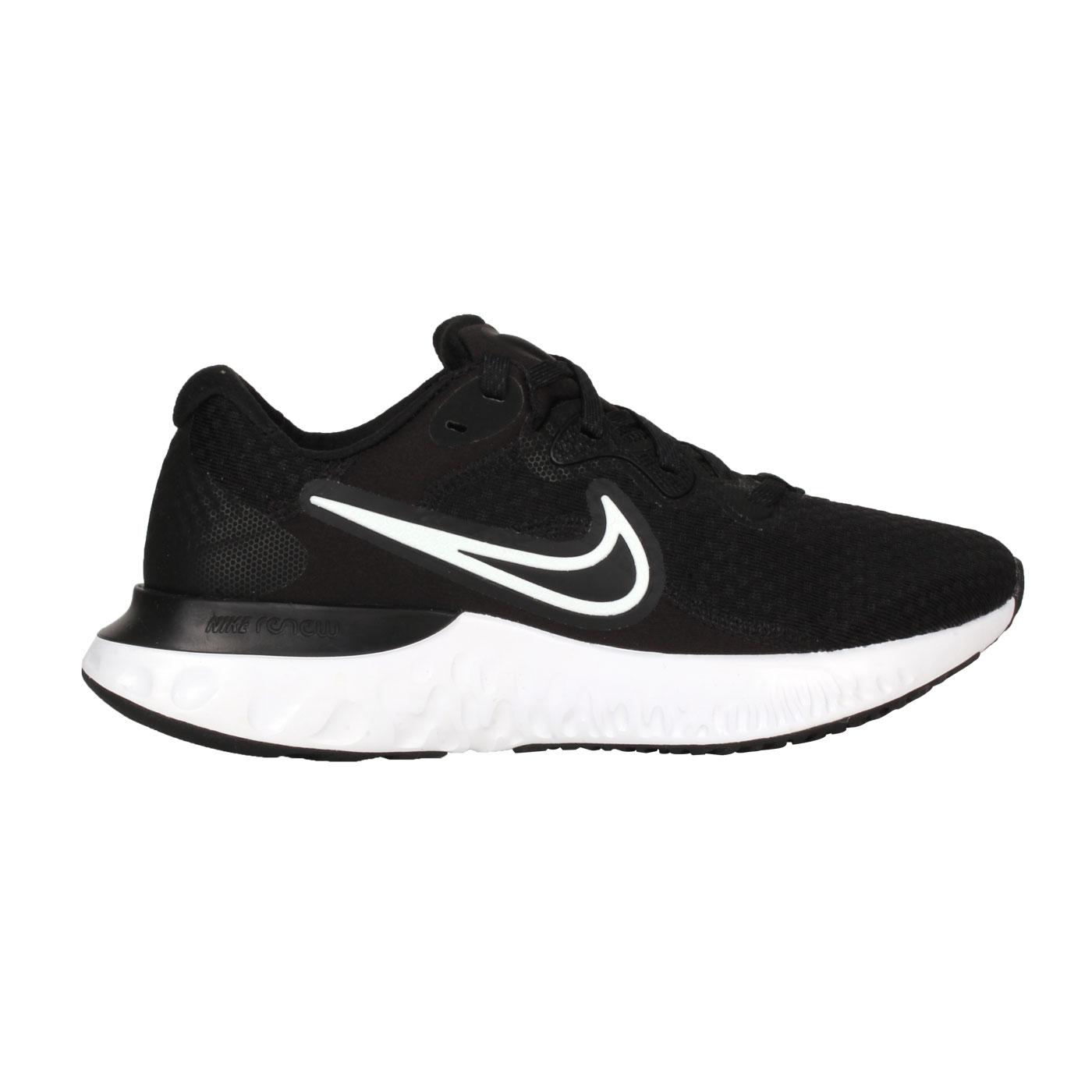 NIKE 女款休閒慢跑鞋  @WMNS  RENEW RUN 2@CU3505005 - 黑白
