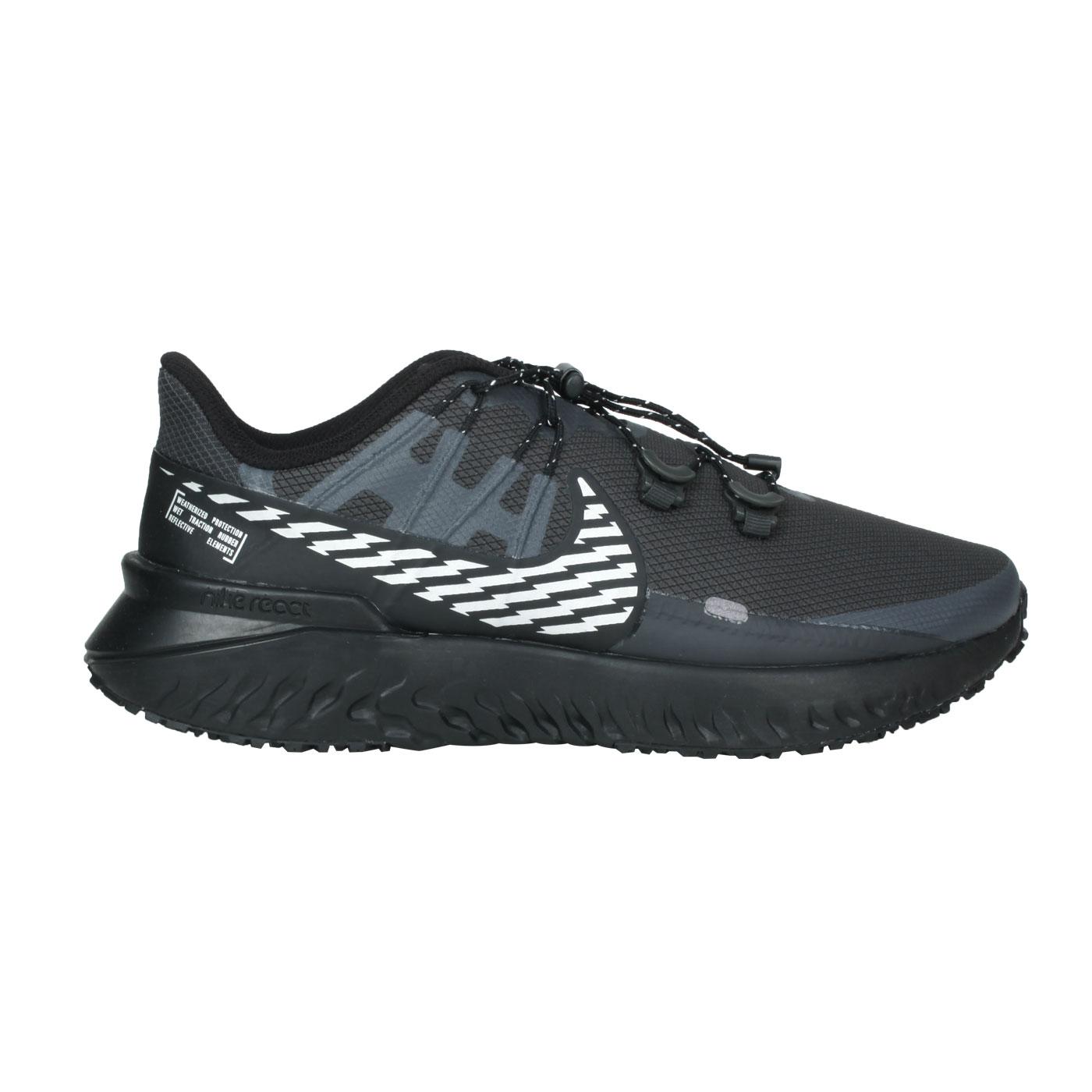 NIKE 男款休閒運動鞋  @LEGEND REACT 3 SHIELD@CU3864002 - 黑灰白