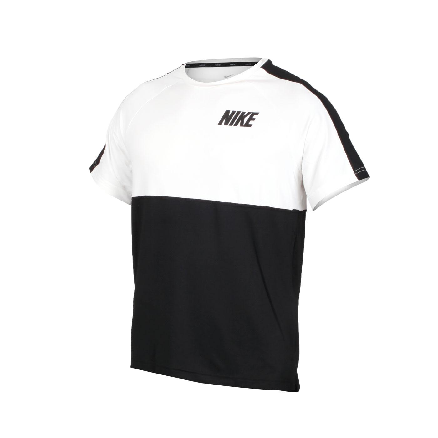 NIKE 男款短袖T恤 CU4047-100 - 白黑