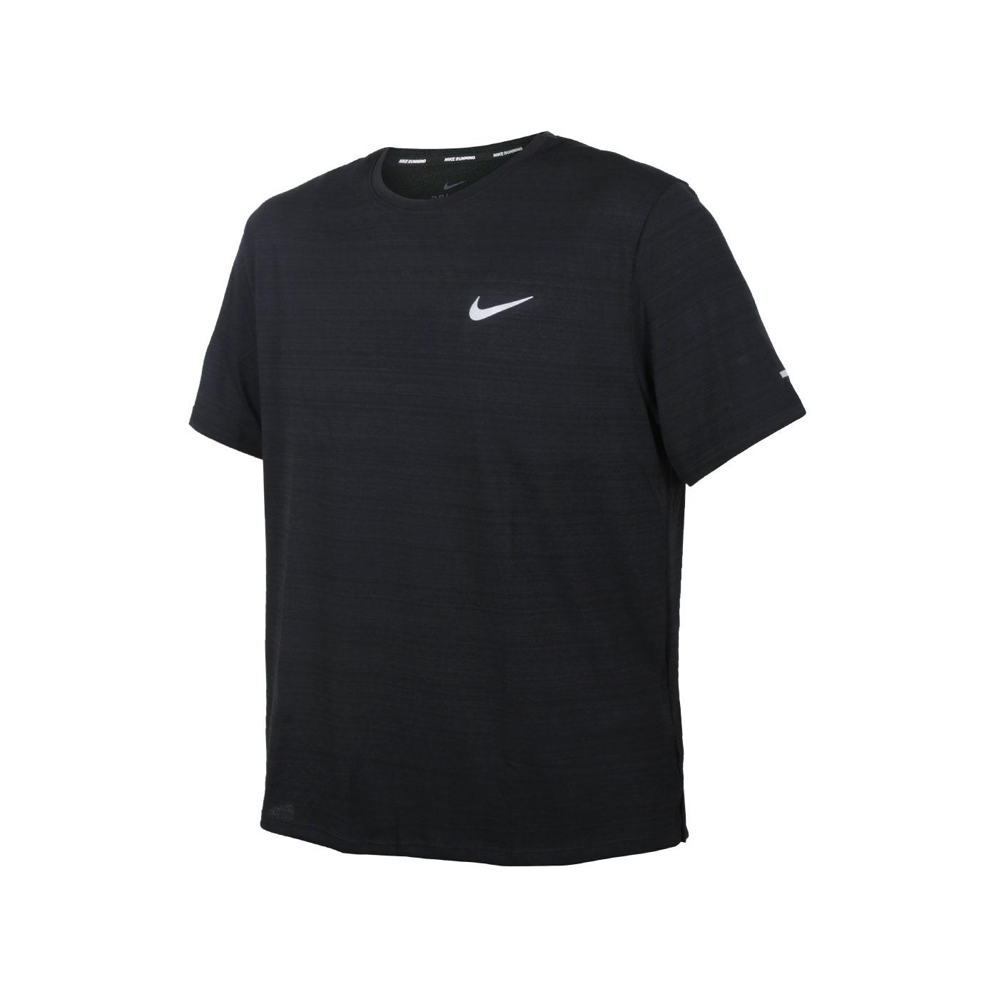 NIKE 男款短袖T恤 CU5993-010 - 黑銀