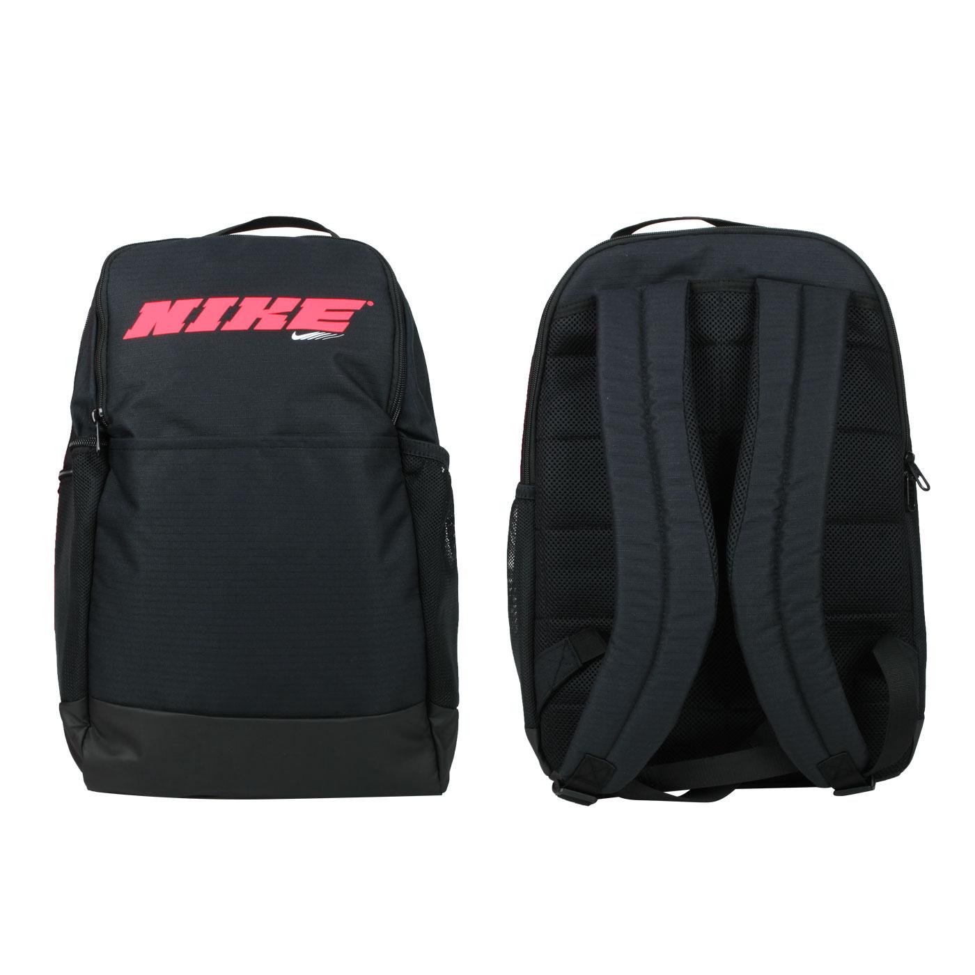 NIKE 後背包 CU9498-010 - 黑紅白