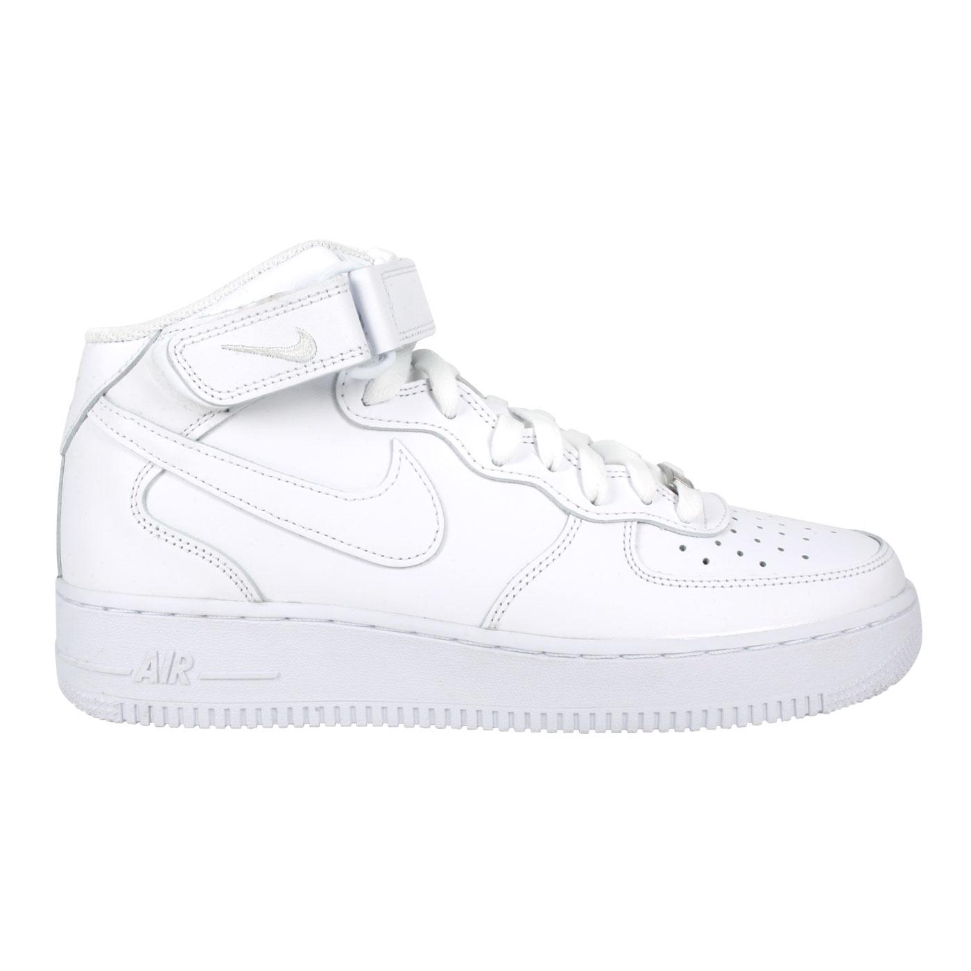 NIKE 男款休閒鞋  @AIR FORCE 1 MID '07@CW2289111 - 白