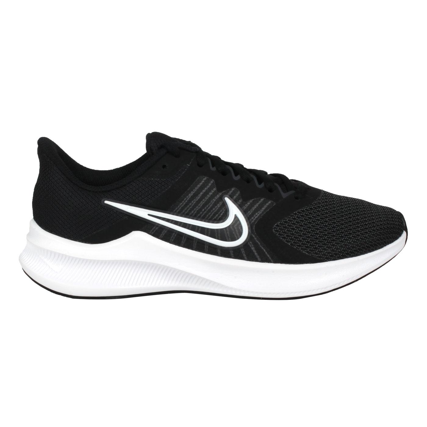 NIKE 男款休閒運動鞋  @ DOWNSHIFTER 11@CW3411006 - 黑白