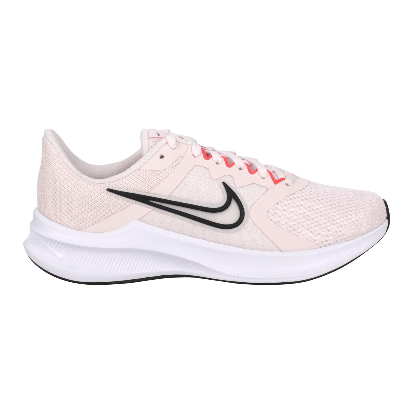 NIKE 女款運動休閒鞋  @WMNS DOWNSHIFTER 11@CW3413601 - 粉紅黑