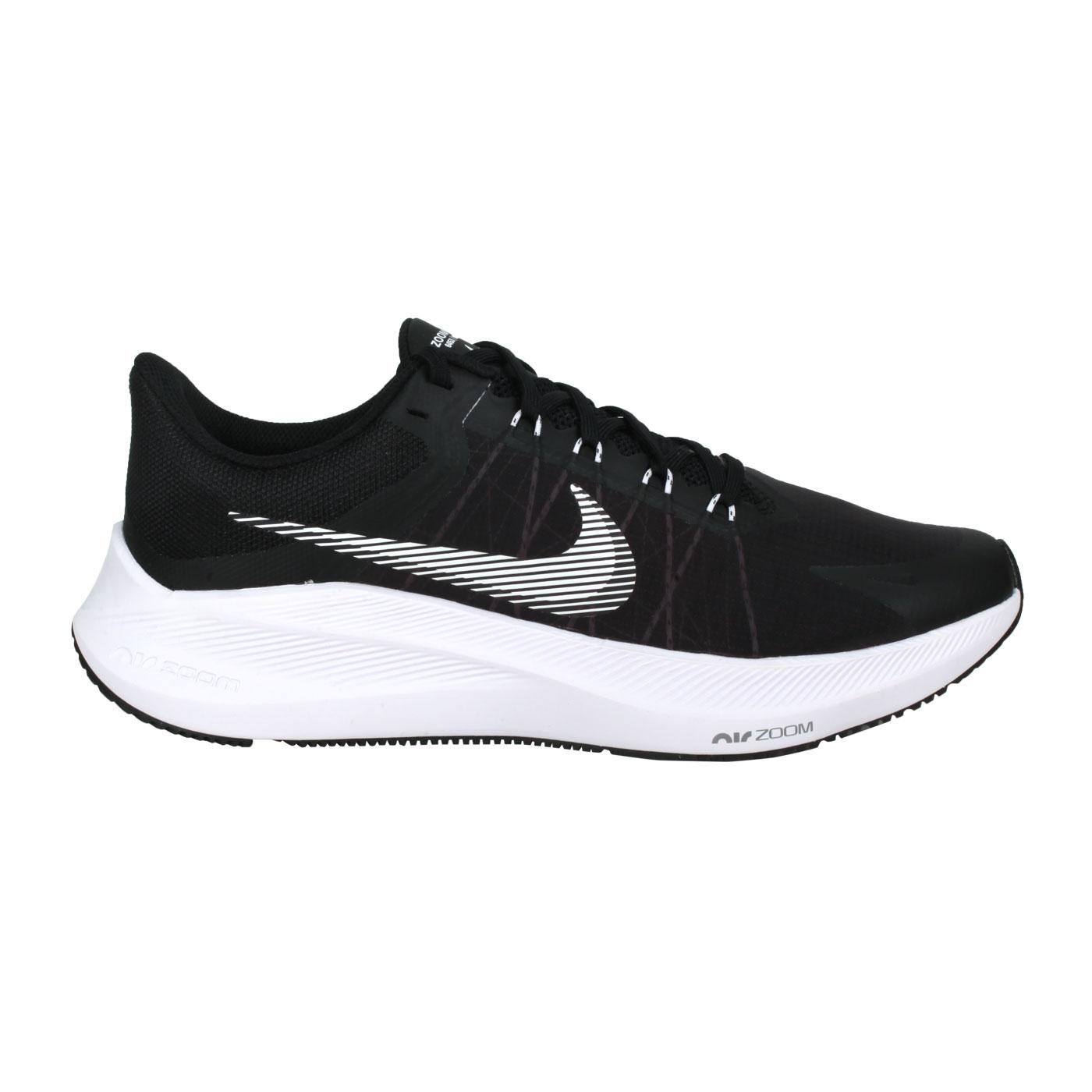 NIKE 男款慢跑鞋  @WINFLO 8@CW3419006 - 黑白