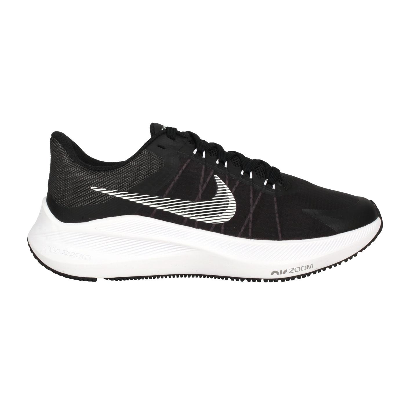 NIKE 女款休閒慢跑鞋  @WMNS WINFLO 8@CW3421005 - 黑白