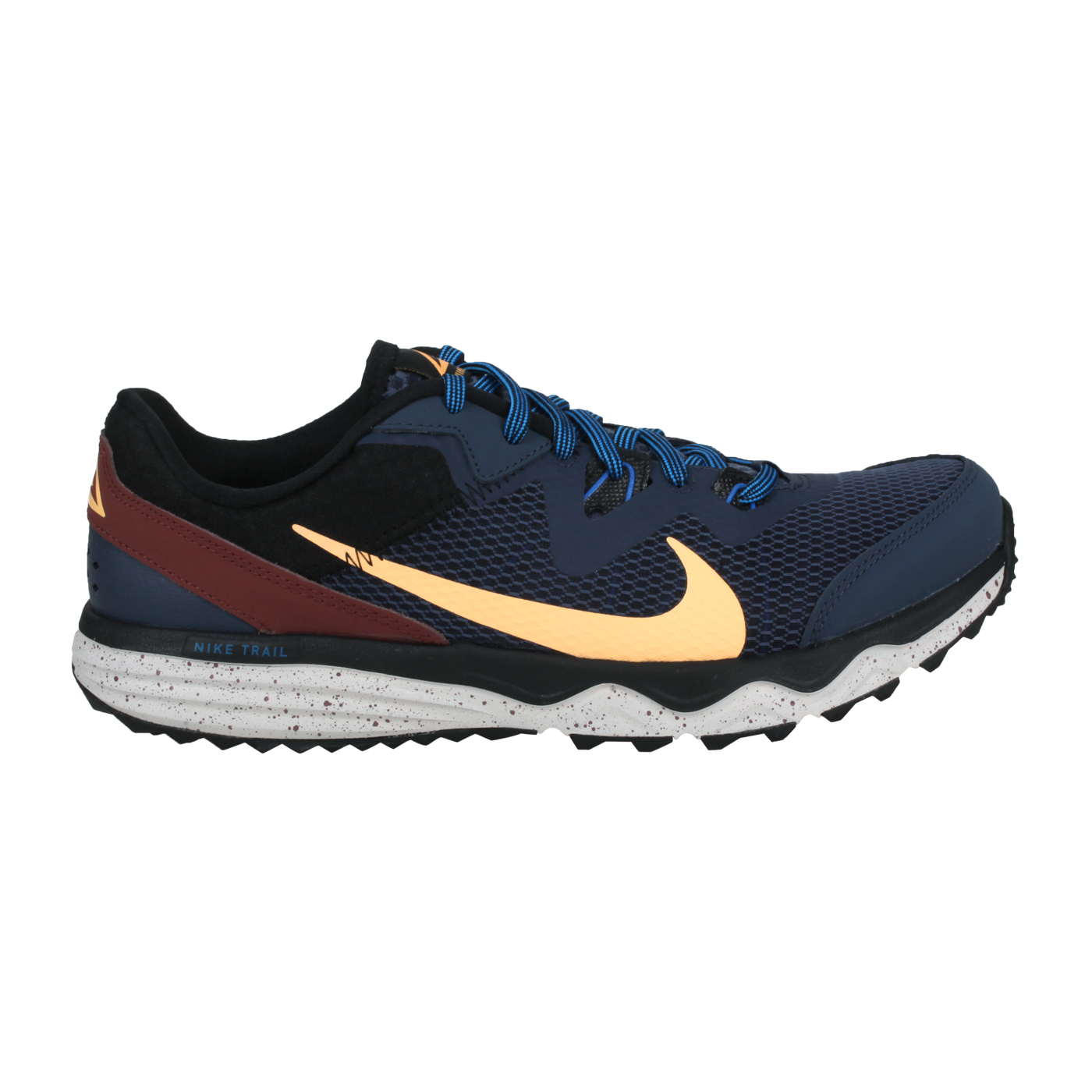 NIKE 男款慢跑鞋  @JUNIPER TRAIL@CW3808401 - 丈青淺黃棕