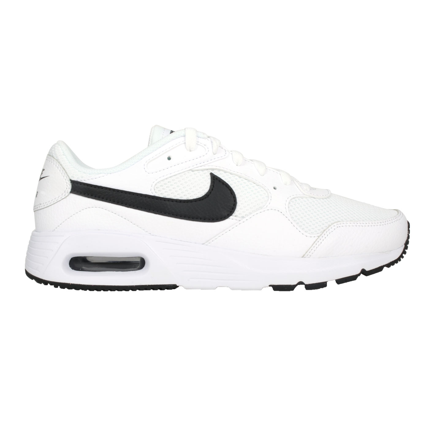 NIKE 男款休閒運動鞋  @AIR MAX SC@CW4555102 - 白黑