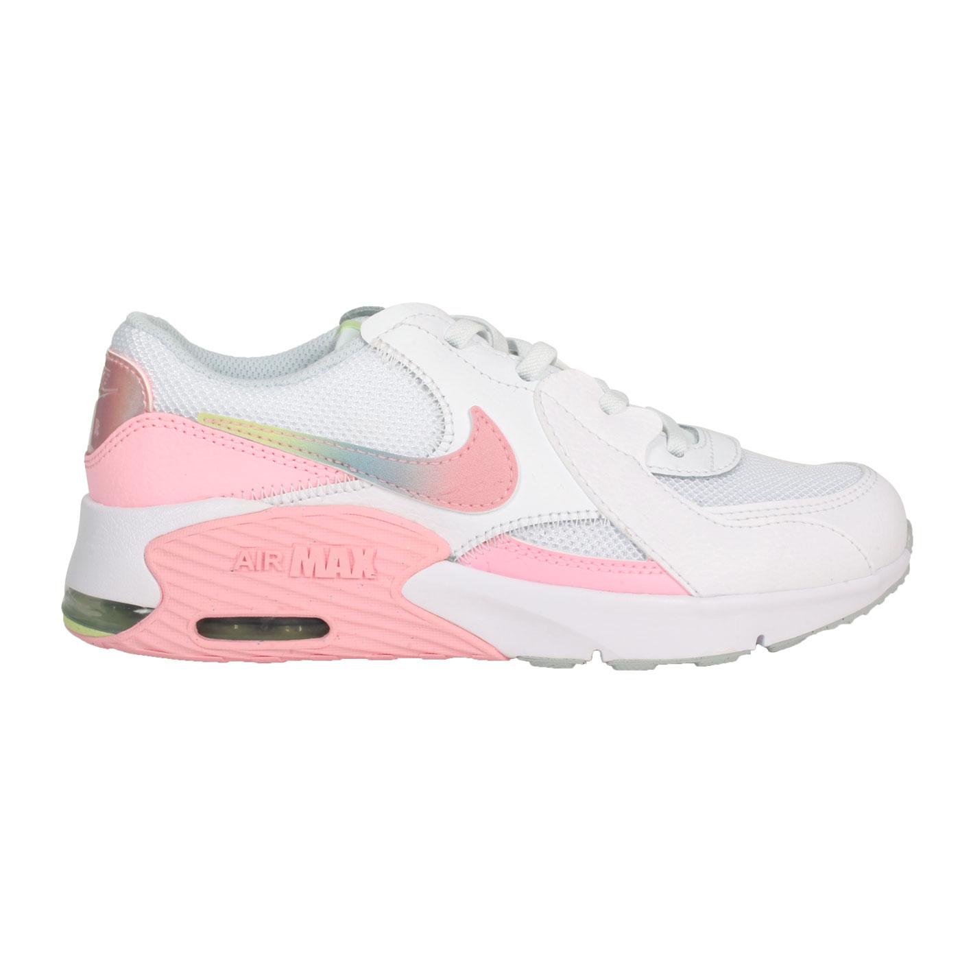 NIKE 中童休閒運動鞋  @AIR MAX EXCEE MWH(PS)@CW5832100 - 白粉綠