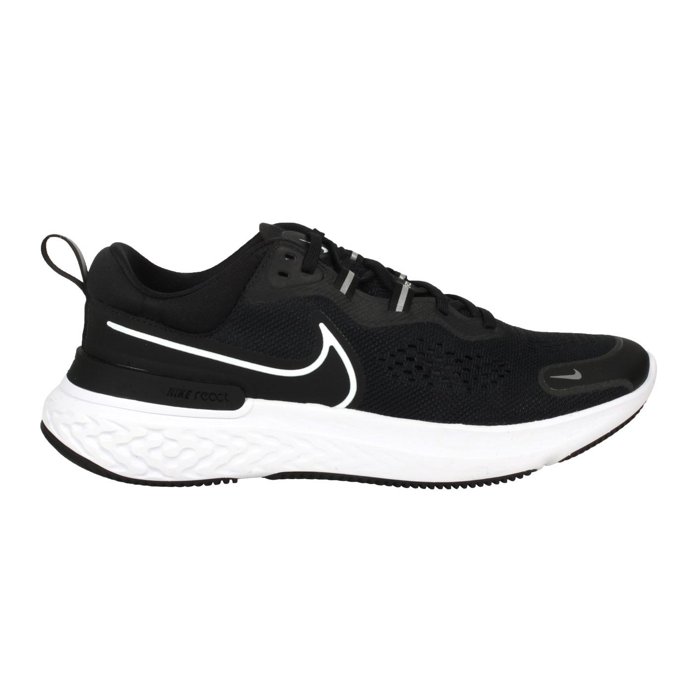 NIKE 男款休閒運動鞋  @REACT MILER 2@CW7121001 - 黑白