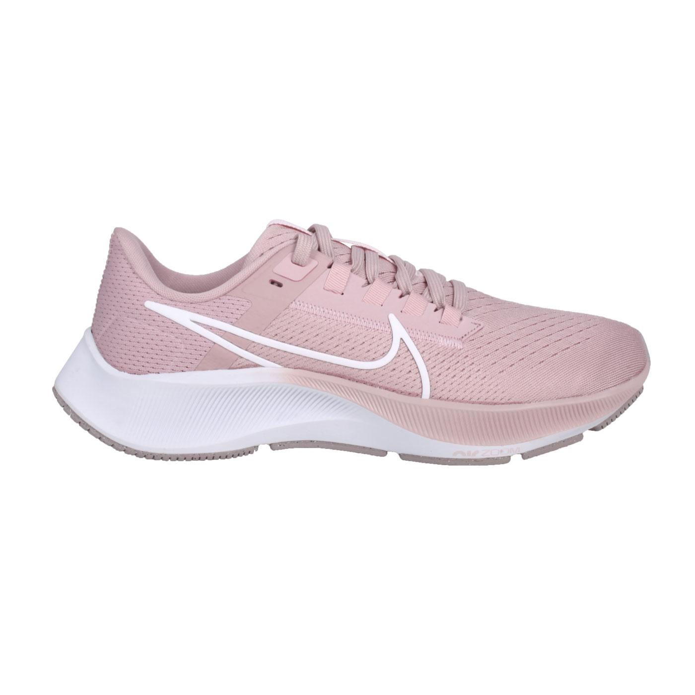 NIKE 女款慢跑鞋  @WMNS AIR ZOOM PEGASUS 38@CW7358-601 - 粉紅白