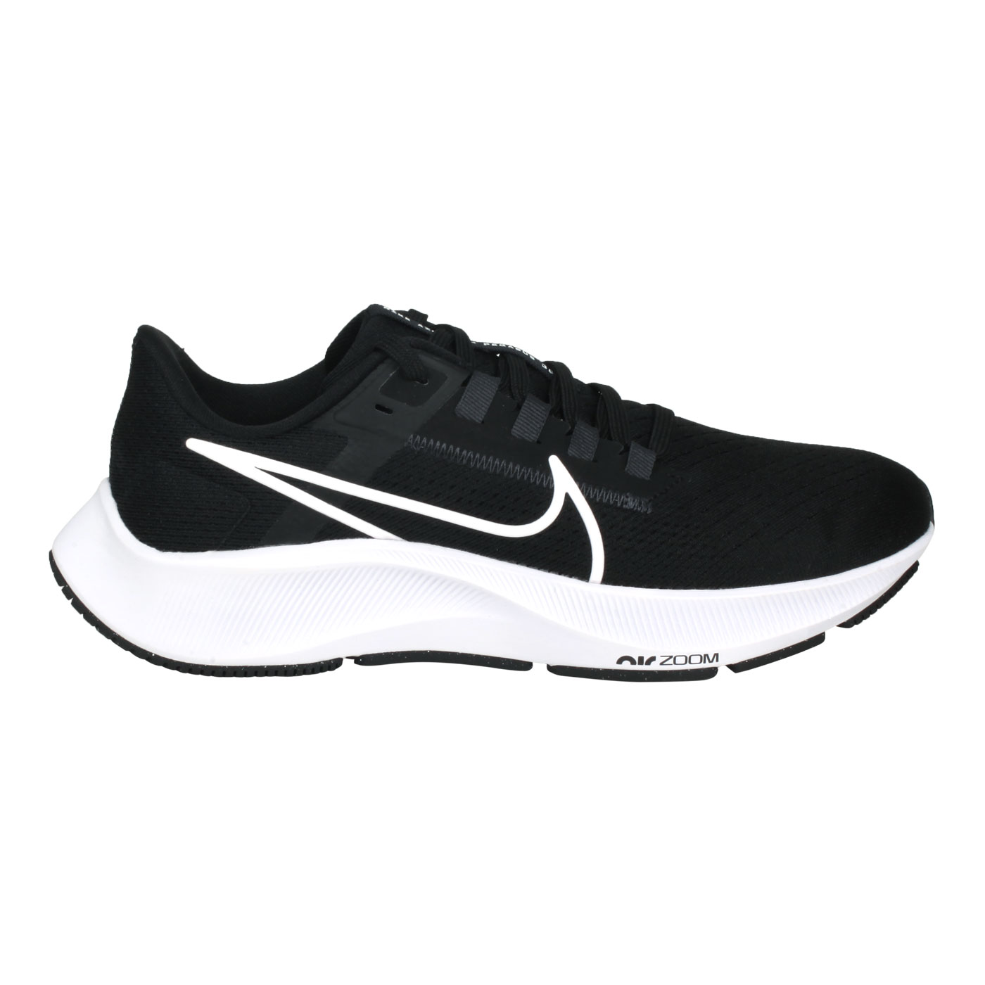 NIKE 女款慢跑鞋  @WMNS AIR ZOOM PEGASUS 38@CW7358002 - 黑白